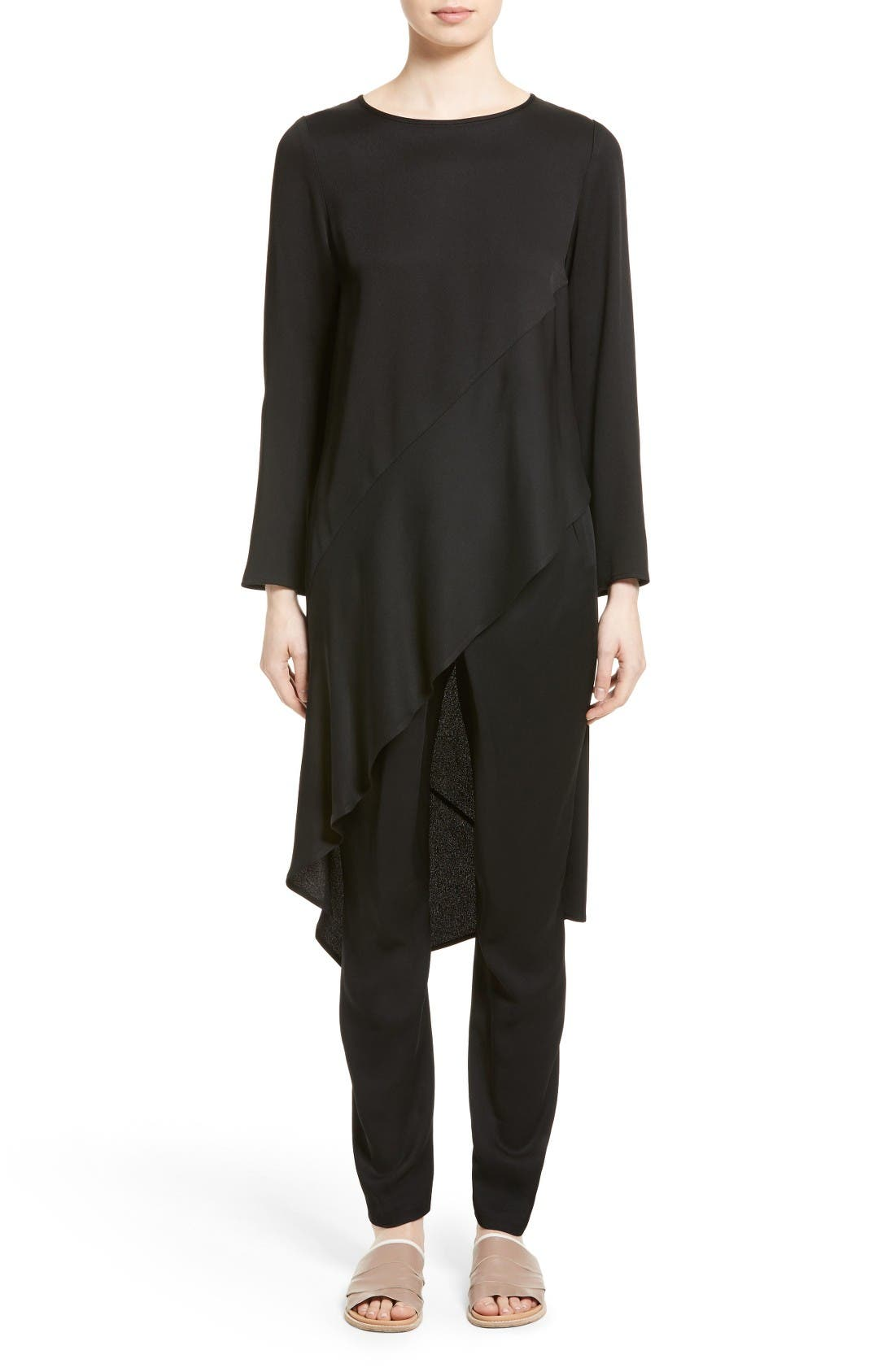 Alternate Image 1 Selected - Zero + Maria Cornejo Heli Asymmetrical Tunic