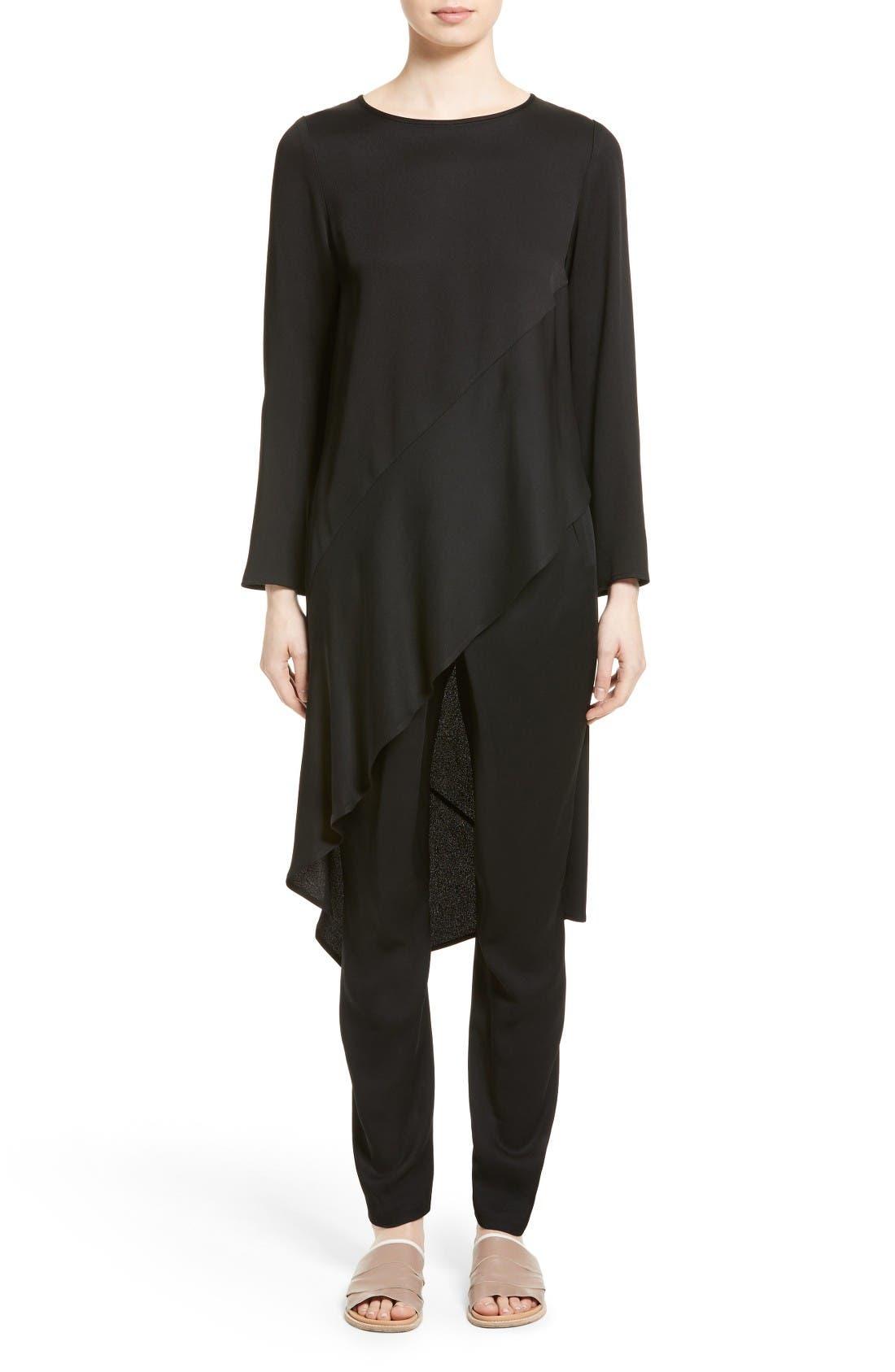 Main Image - Zero + Maria Cornejo Heli Asymmetrical Tunic