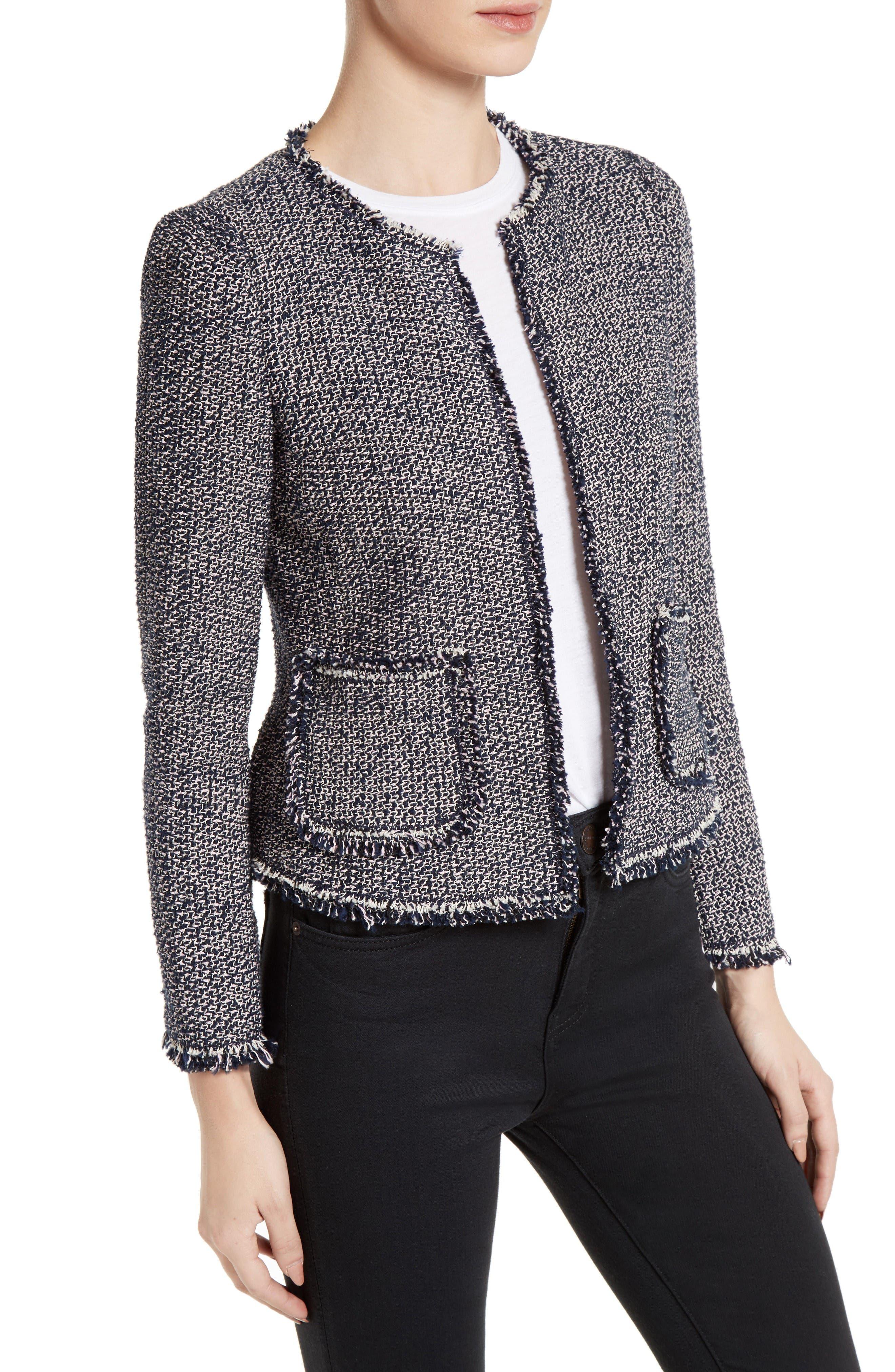 Alternate Image 3  - Rebecca Taylor Confetti Tweed Jacket