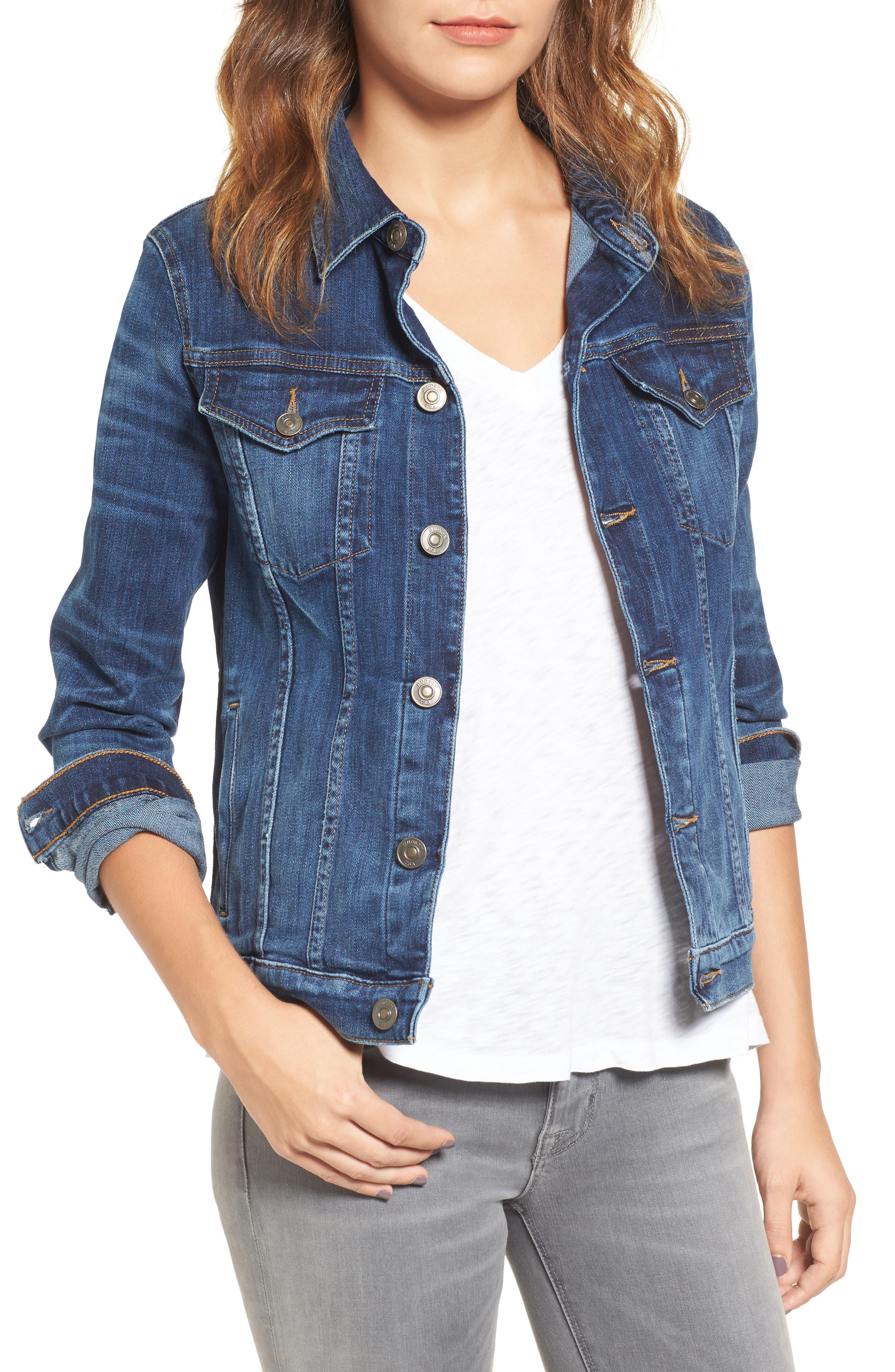 Alternate Image 1 Selected - Hudson Jeans The Classic Denim Jacket