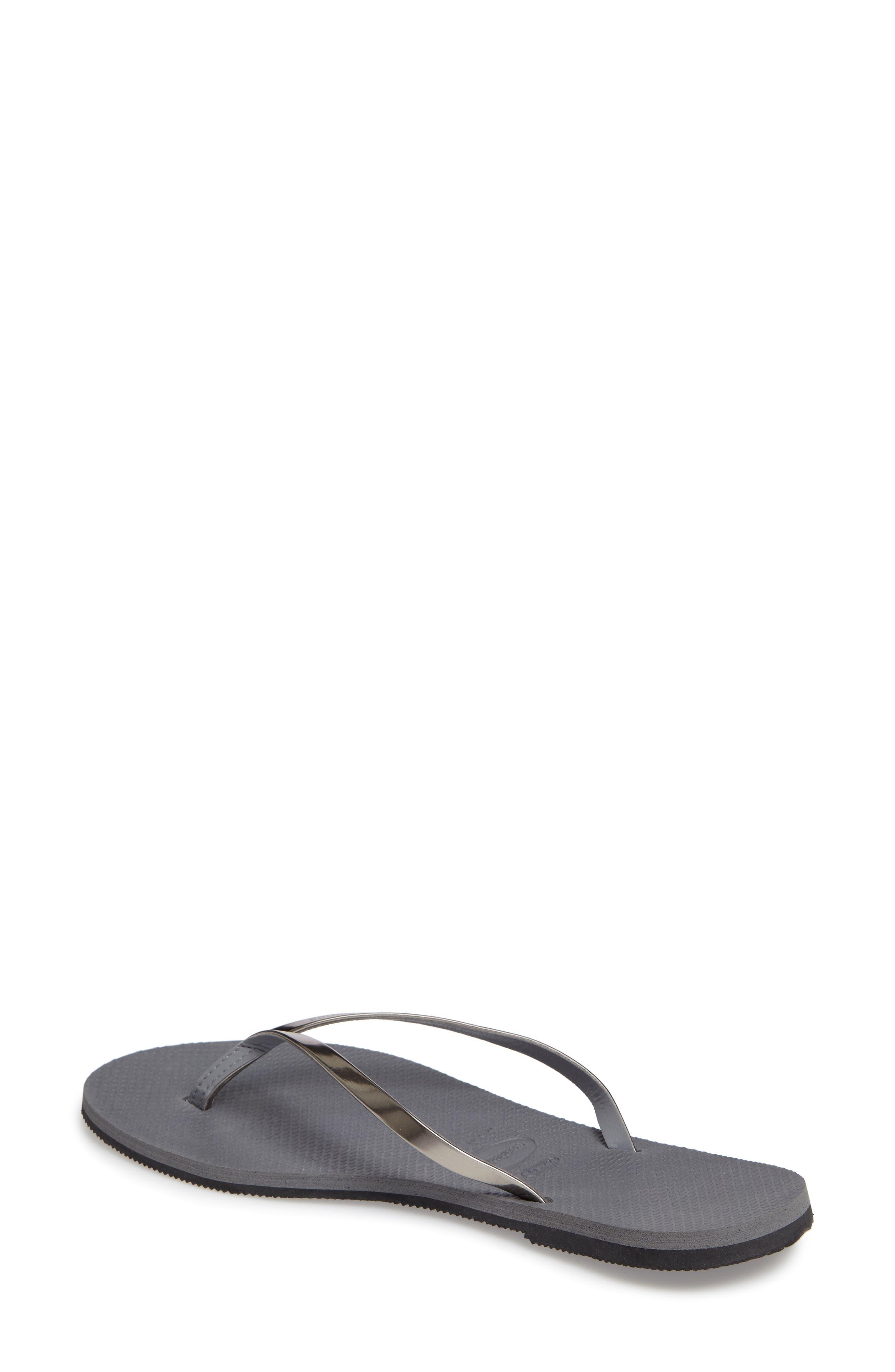 38188d991 Metallic Havaianas Flip-Flops for Women