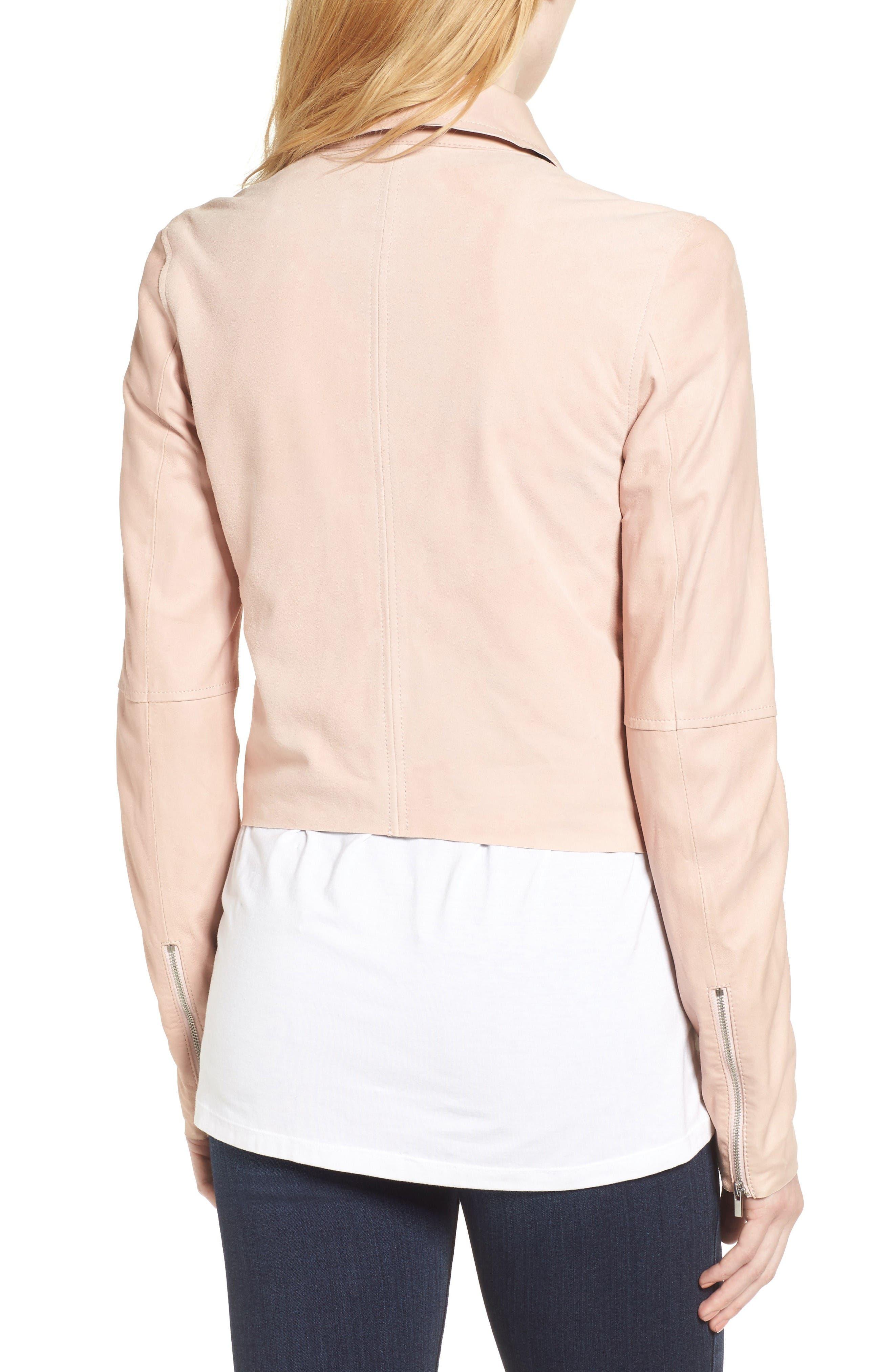 Alternate Image 3  - PAIGE Silvie Leather Moto Jacket