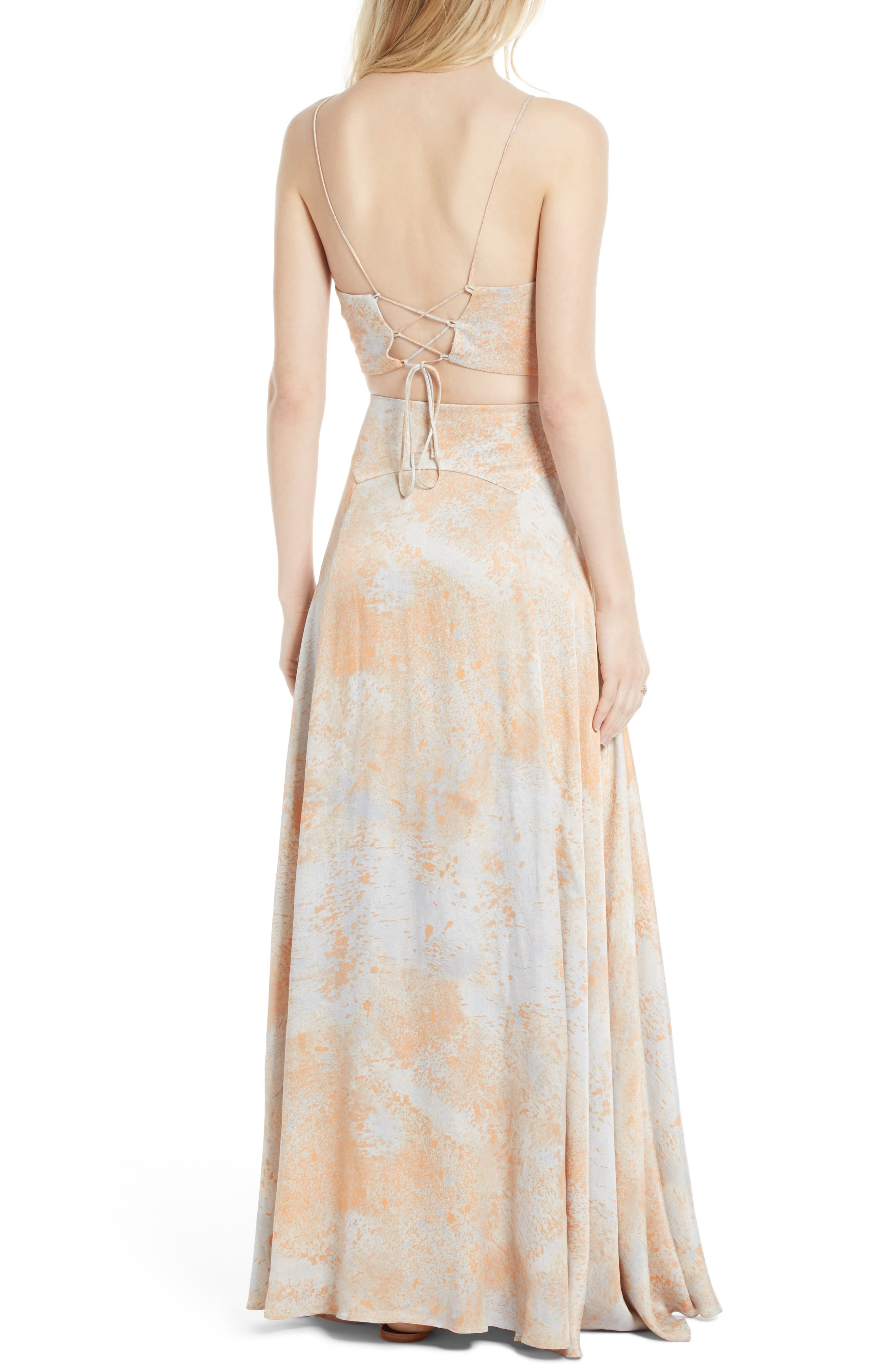Alternate Image 2  - Free People Gardenia Two-Piece Maxi Dress