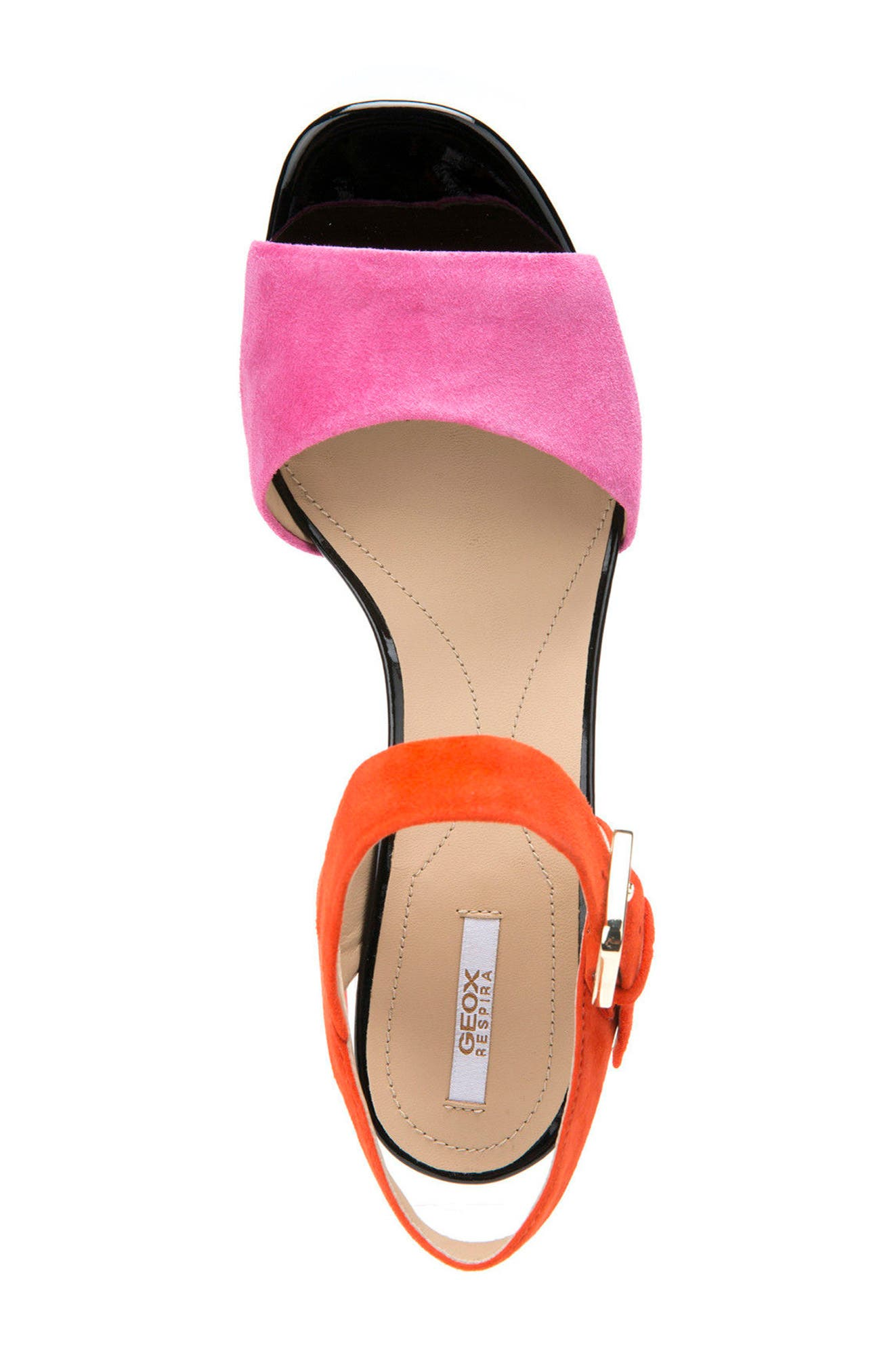 Alternate Image 3  - Geox Marilyse Ankle Strap Sandal (Women)