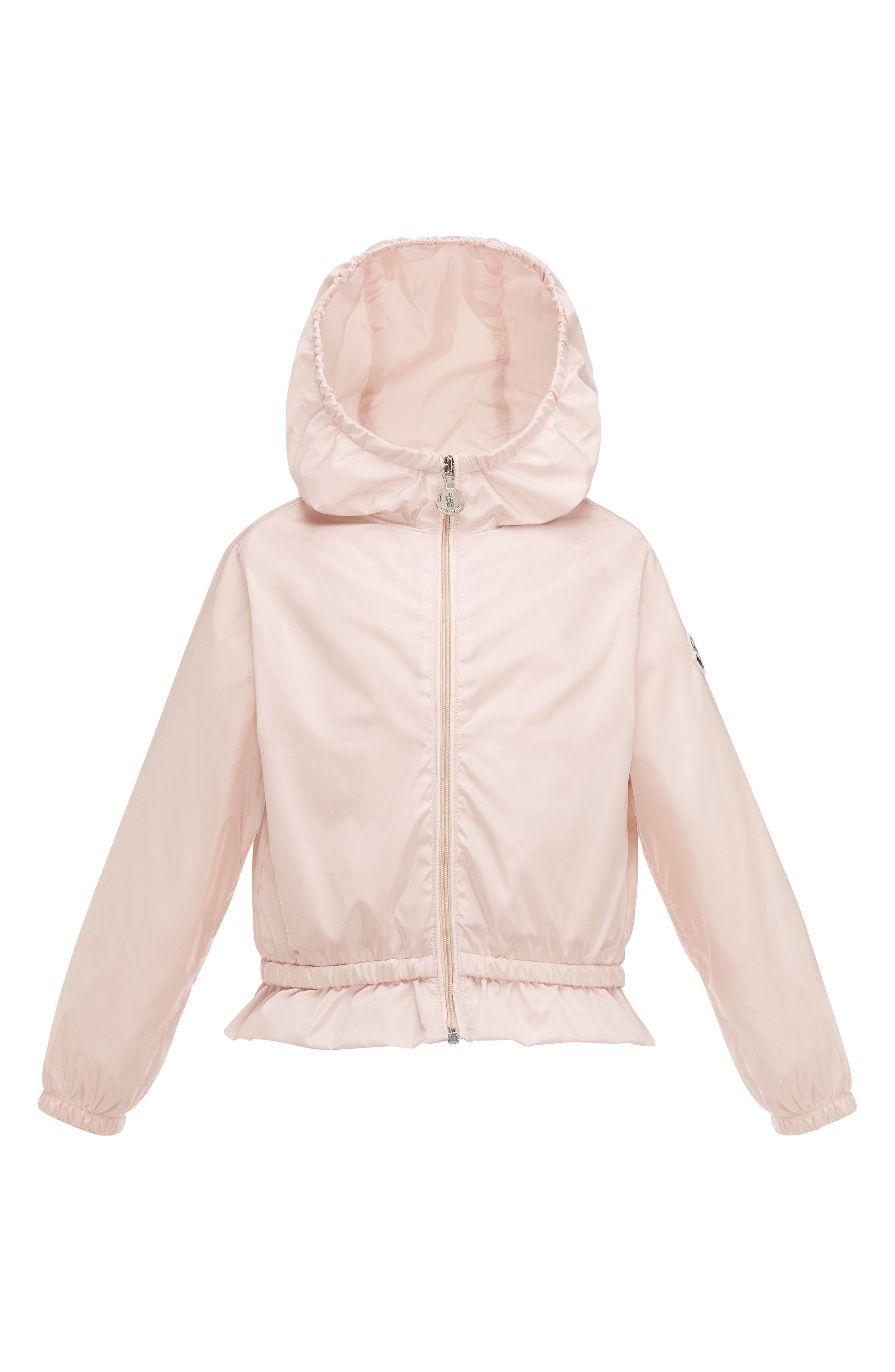 Moncler Camelien Hooded Water Resistant Windbreaker Jacket (Toddler Girls, Little Girls & Big Girls)