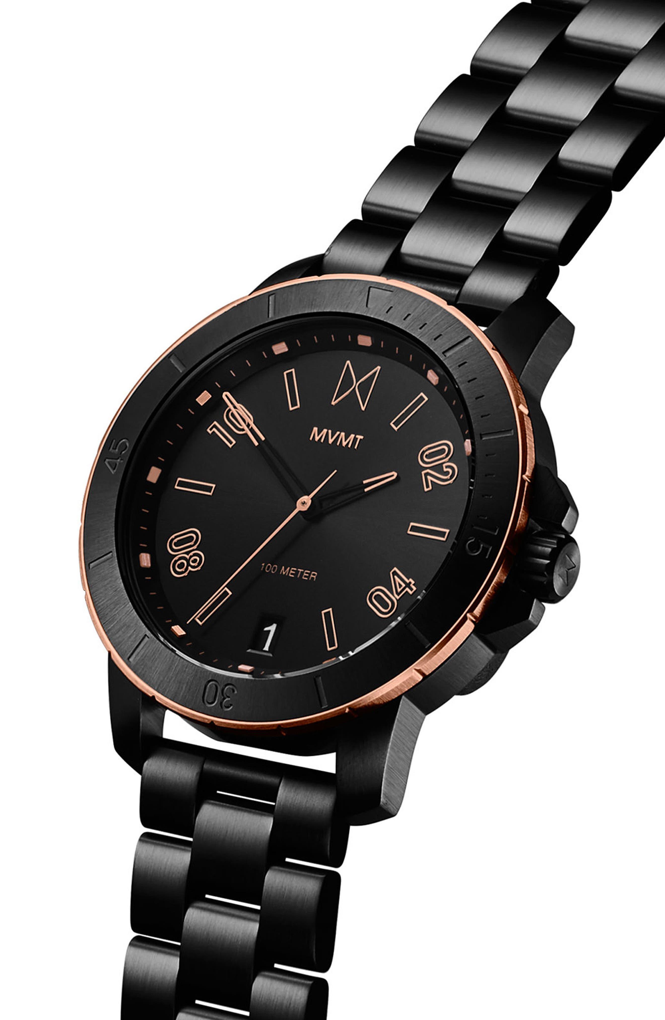 Alternate Image 3  - MVMT Modern Sport Bracelet Watch, 42mm