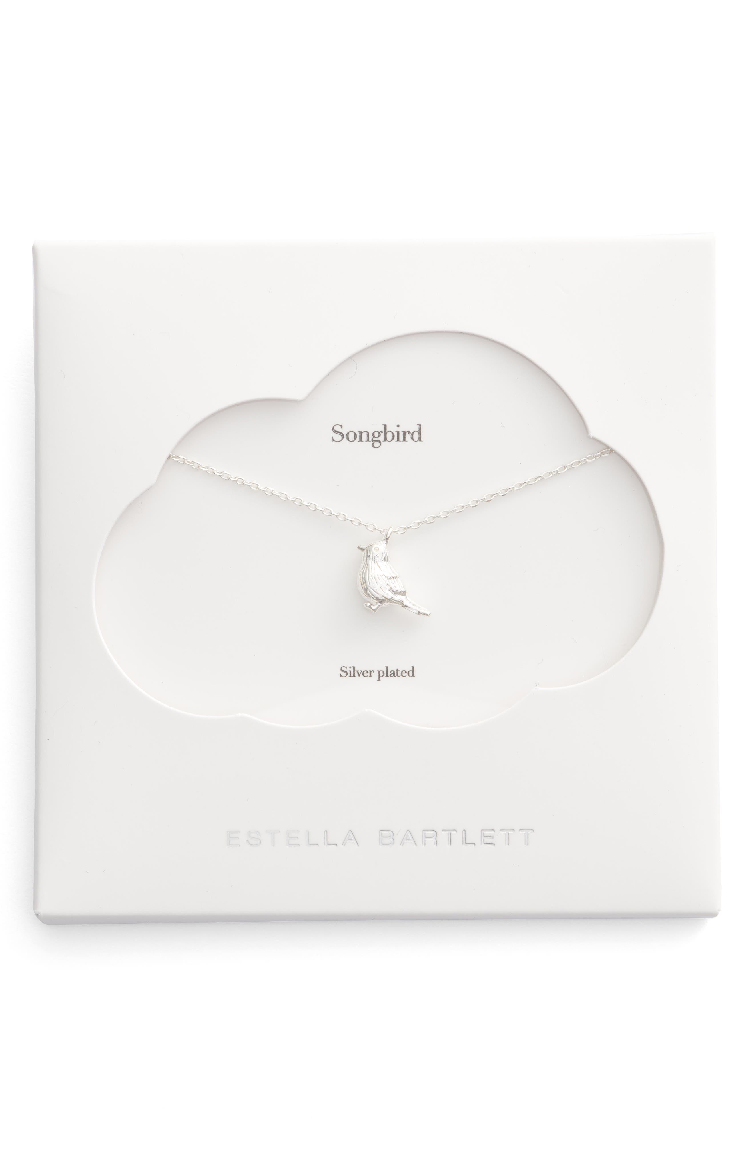ESTELLA BARTLETT Robin Songbird Pendant Necklace