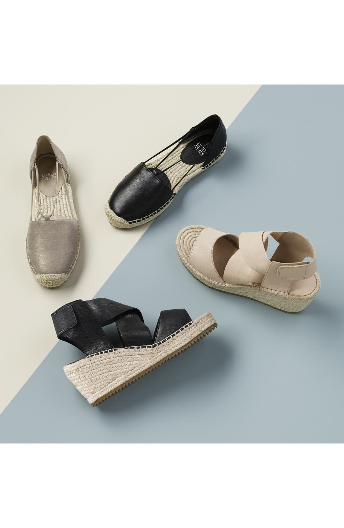 Alternate Image 7  - Eileen Fisher Lee Espadrille Flat (Women)