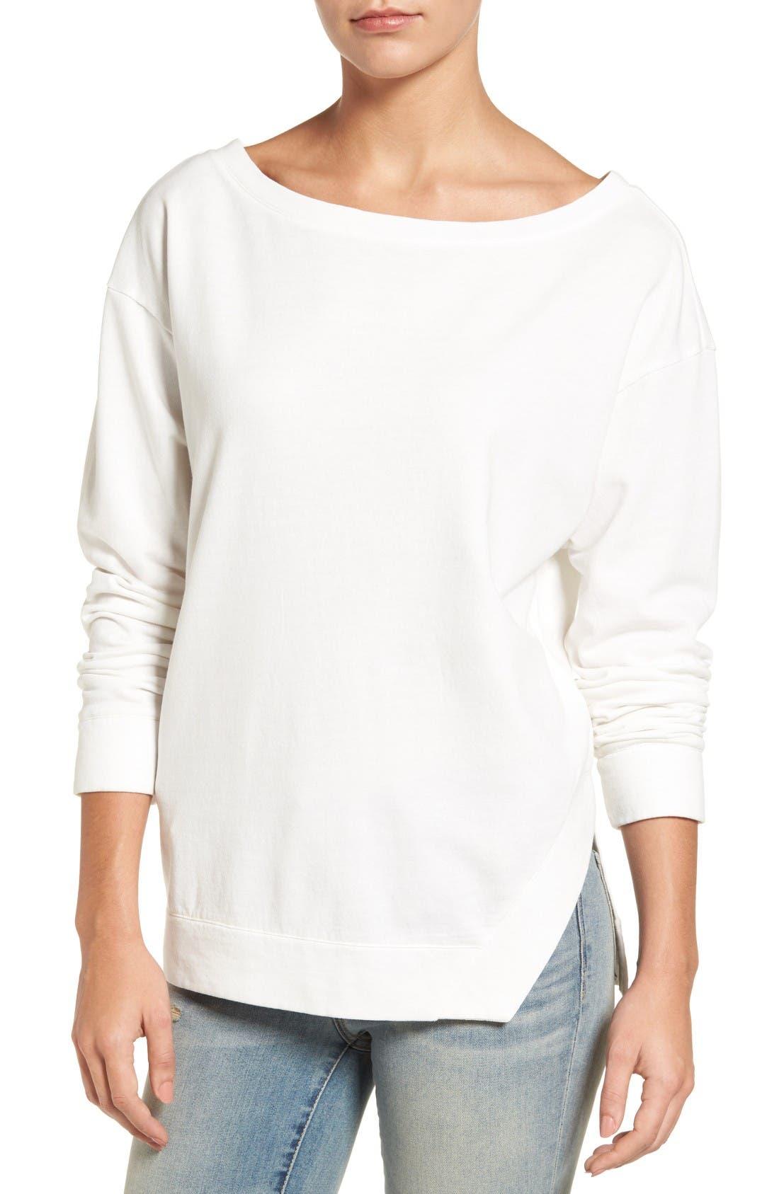 Main Image - Treasure & Bond Side Slit Pullover