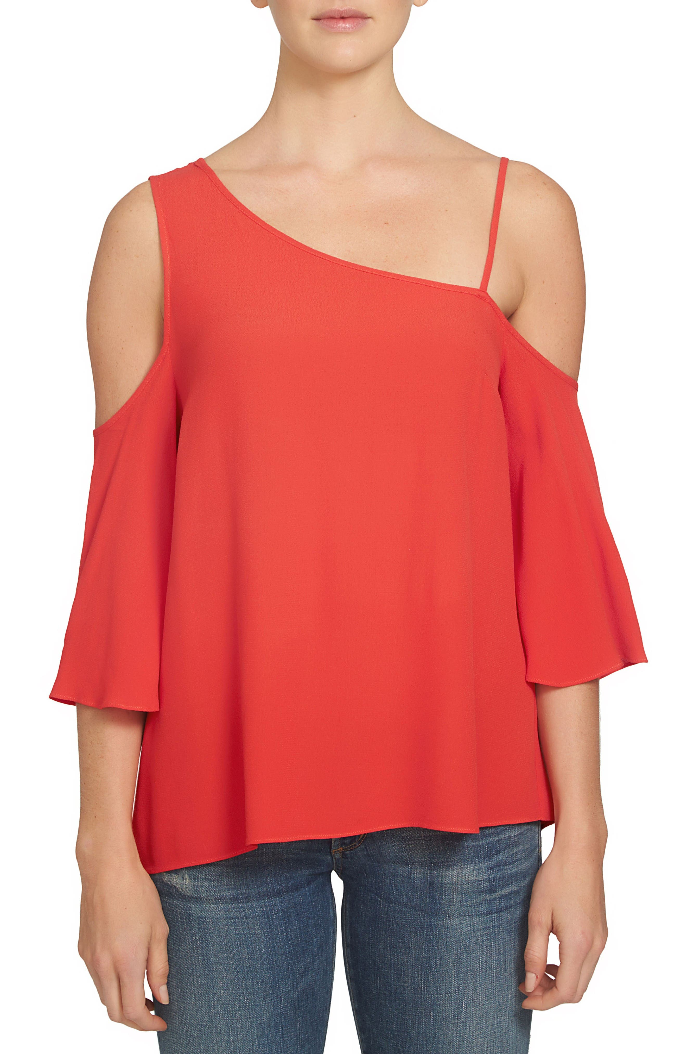Main Image - 1.STATE One-Shoulder Top