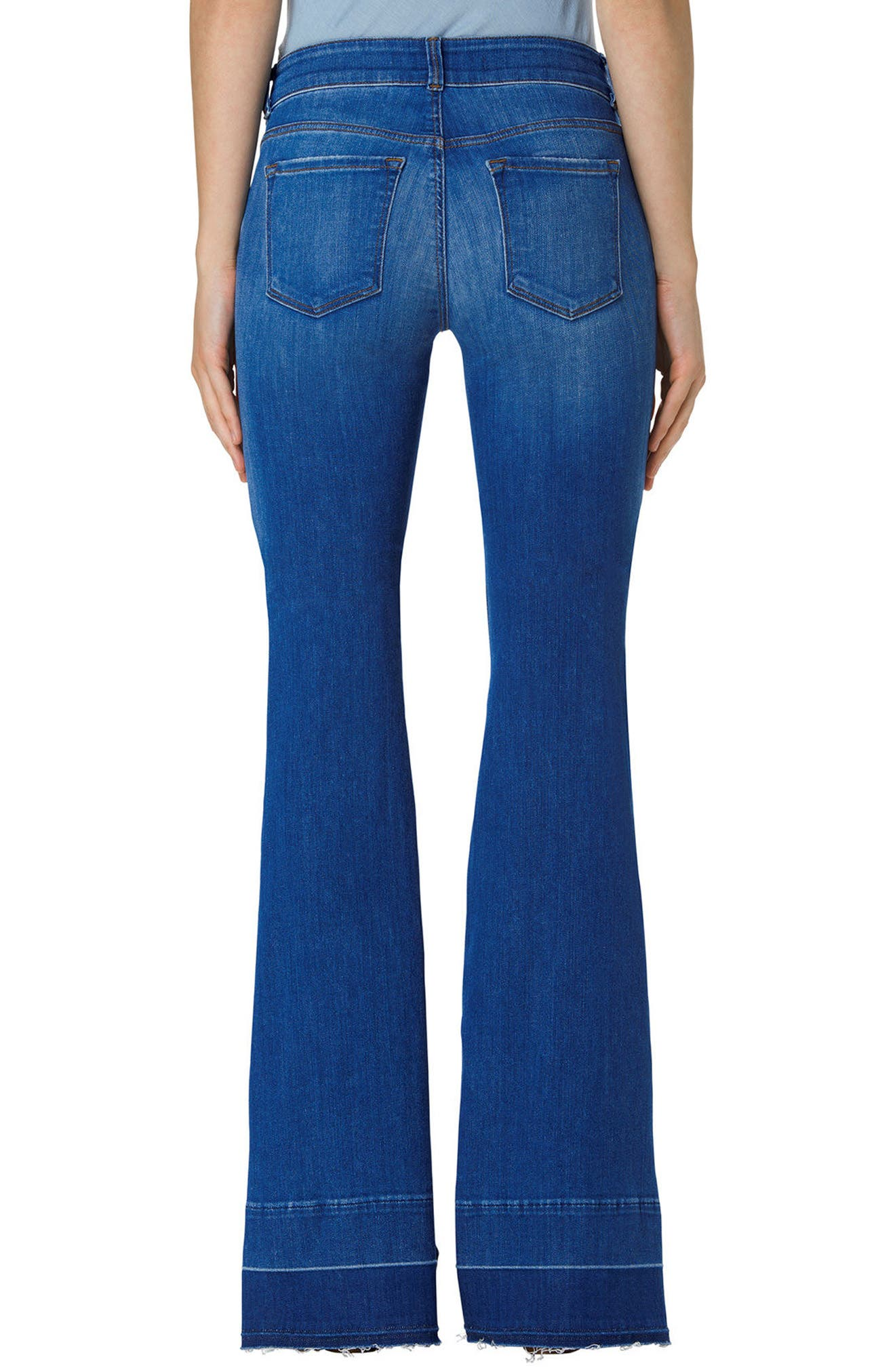 Alternate Image 2  - J Brand Love Story Flare Jeans (Angelic)