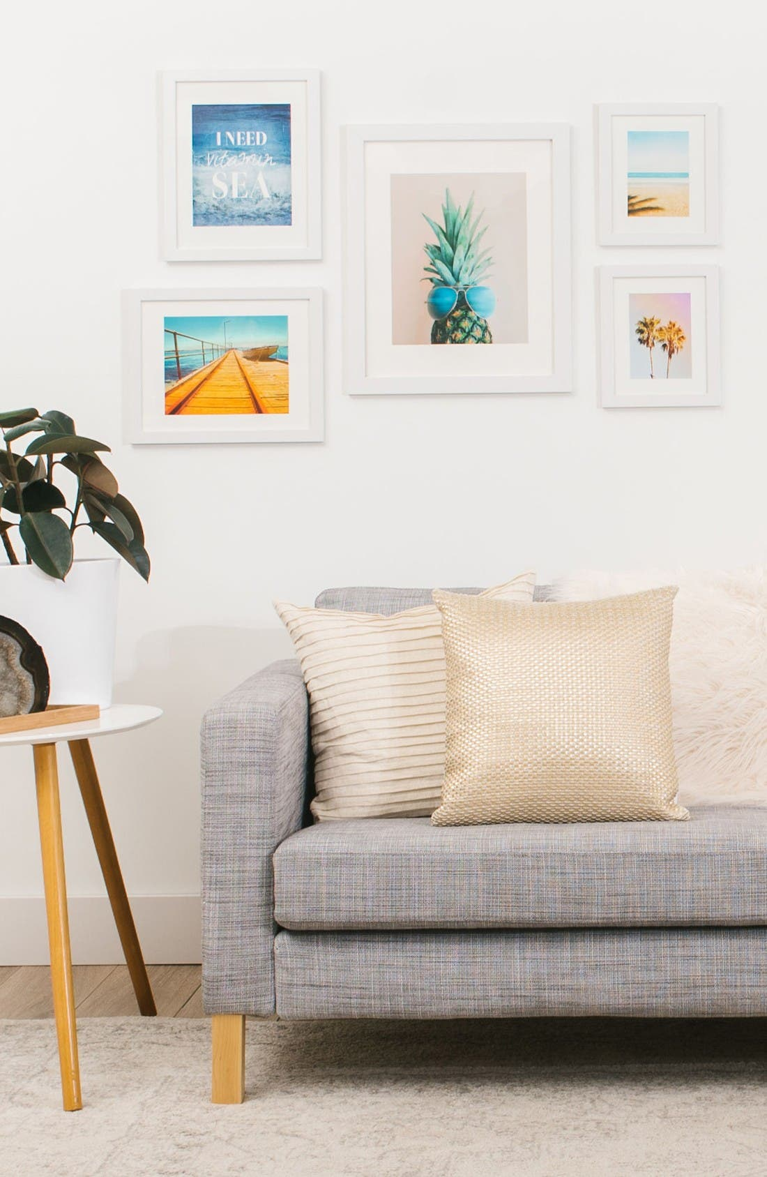 Alternate Image 2  - Deny Designs Tropical Five-Piece Gallery Wall Art Print Set