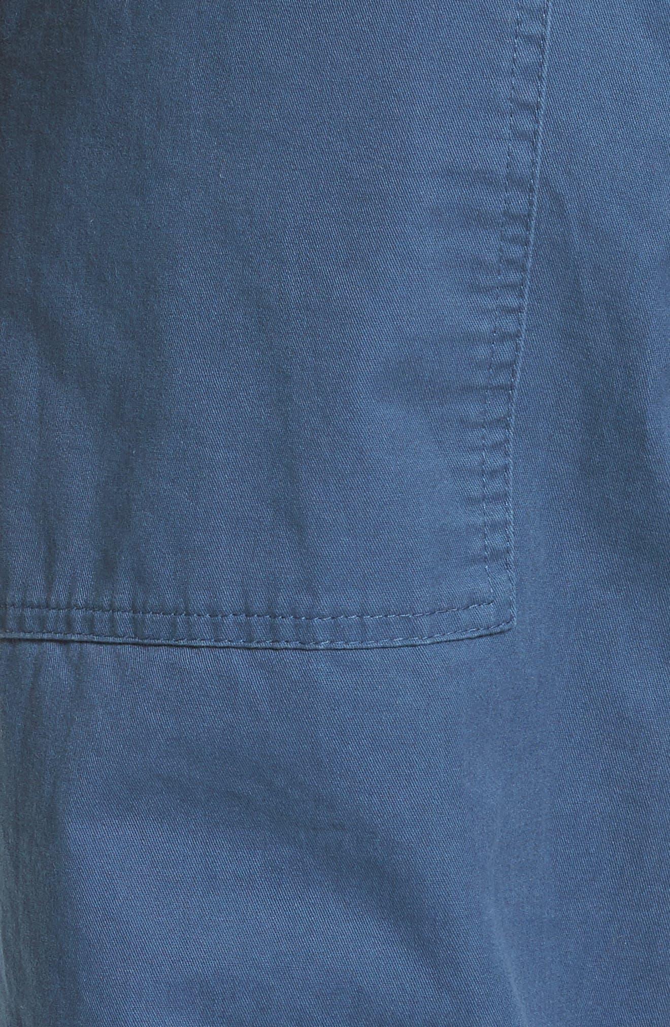 Alternate Image 6  - Tibi Slouchy Enzyme Twill Pants