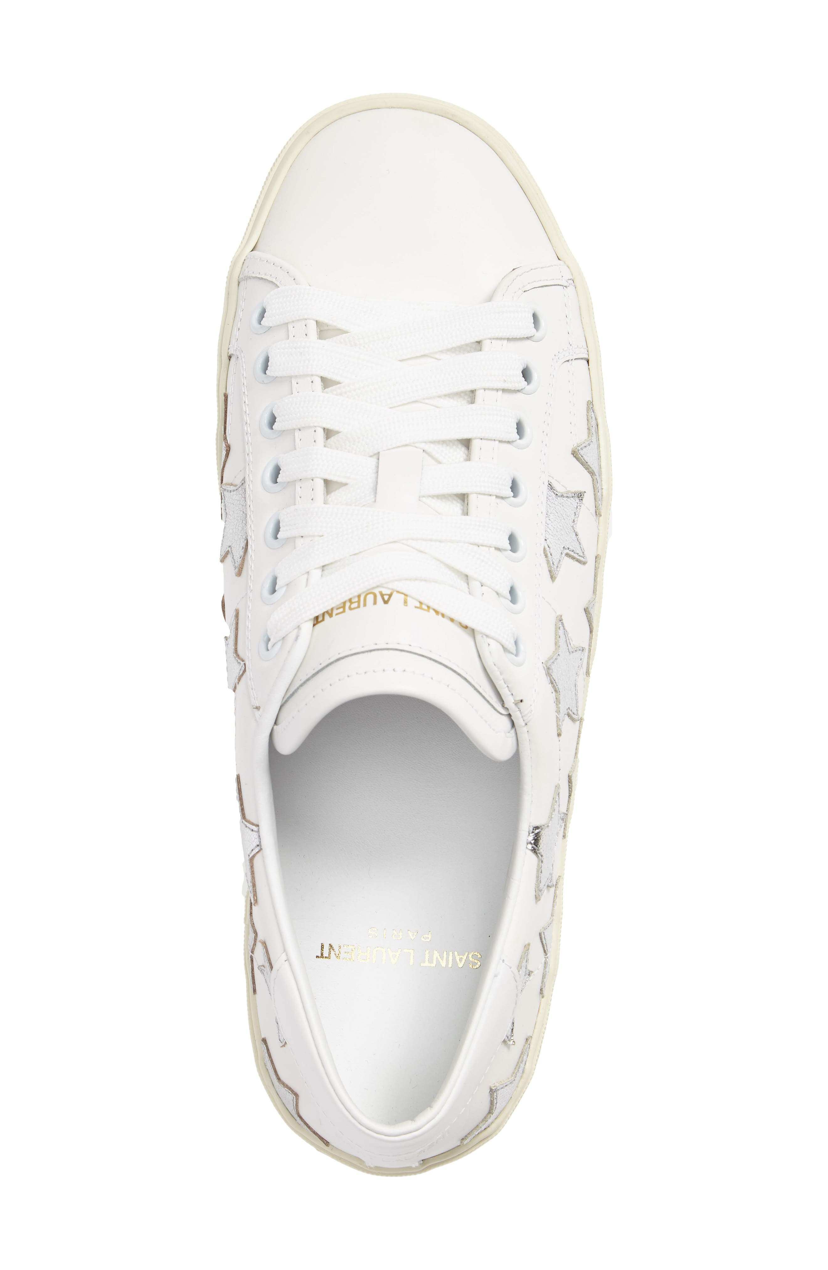 Double Court Classic Sneaker,                             Alternate thumbnail 3, color,                             Ivory
