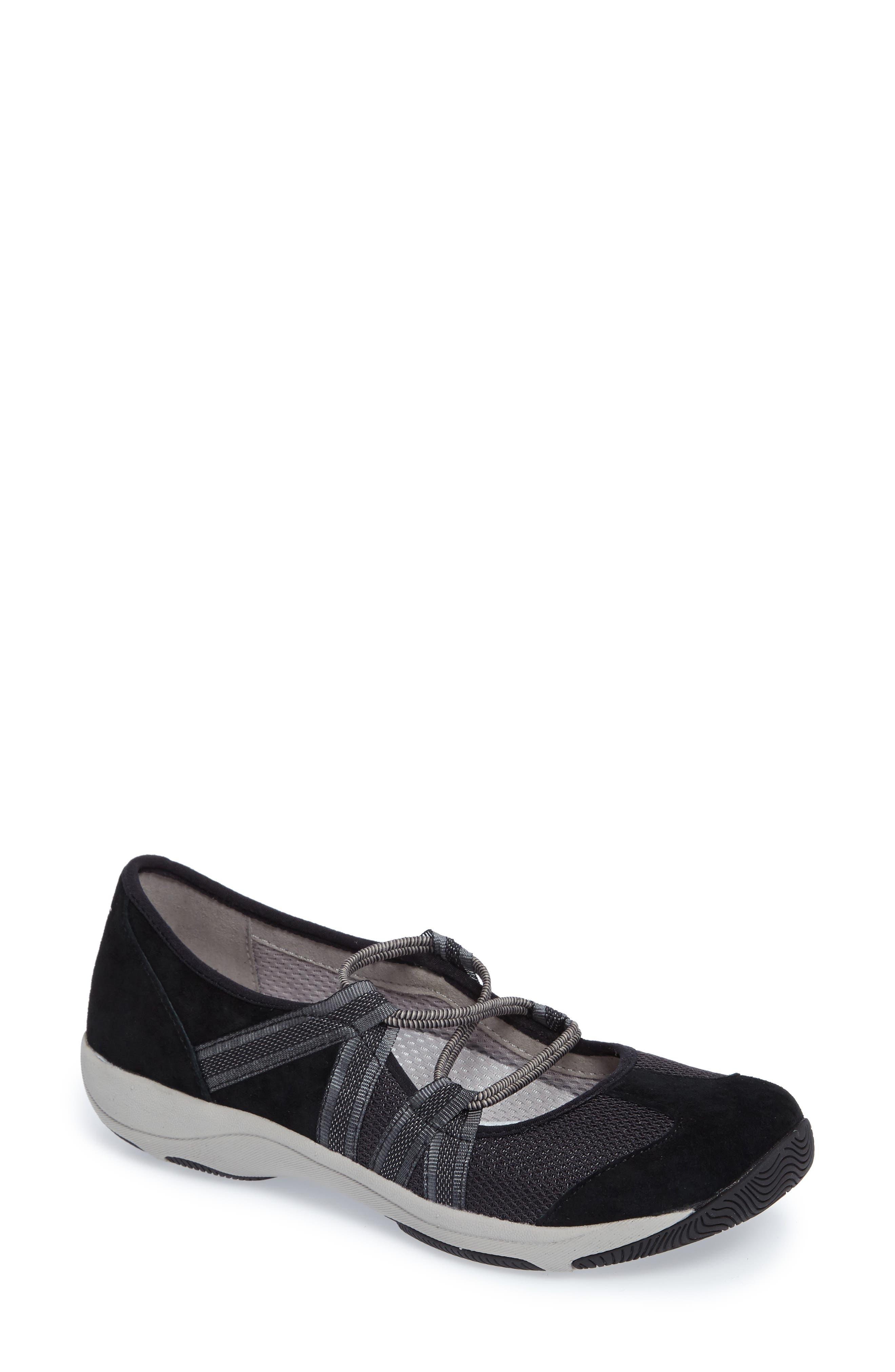 Honey Slip-On Sneaker,                         Main,                         color, Black Suede