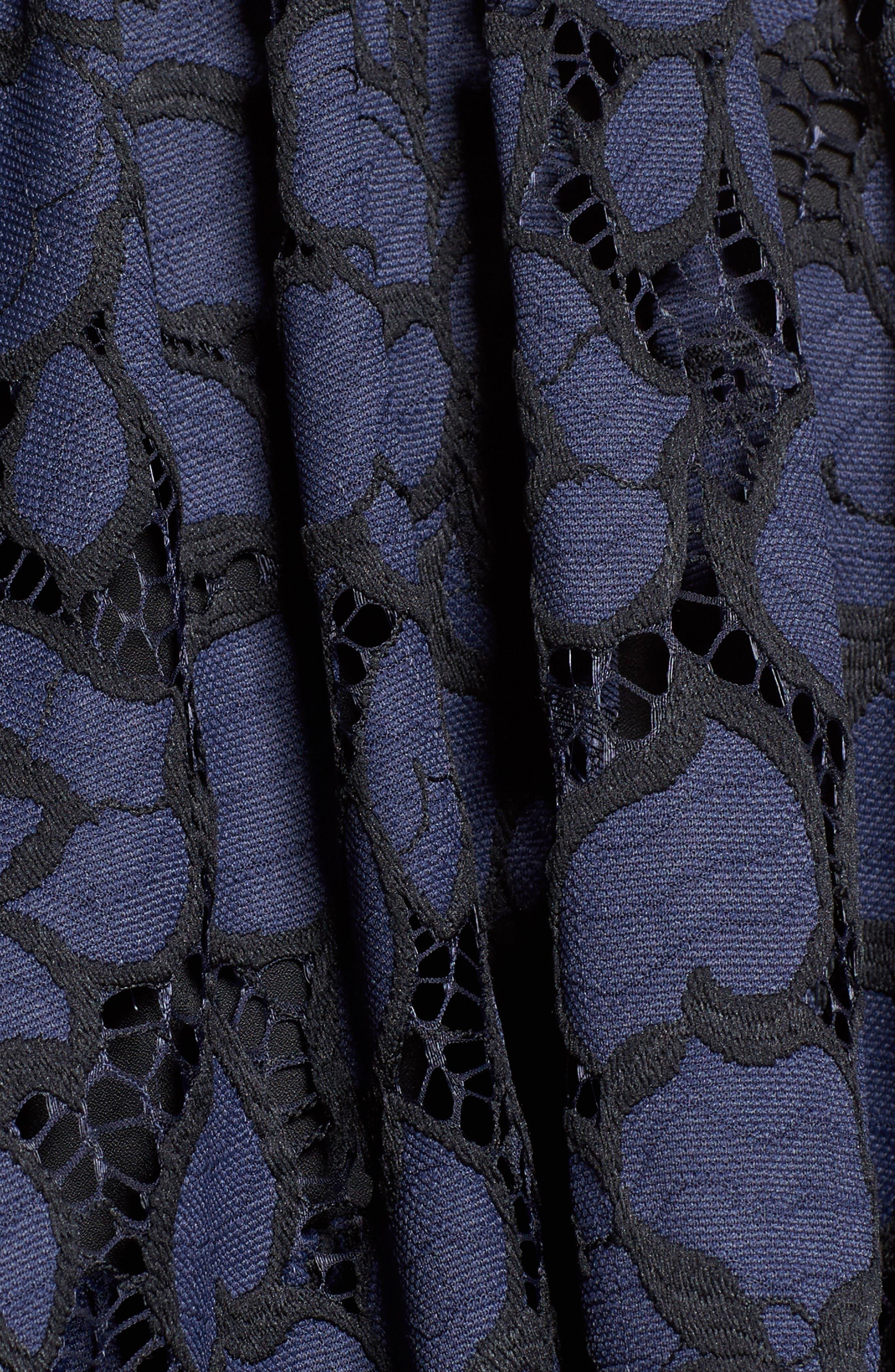 Alternate Image 5  - KENDALL + KYLIE Lace Babydoll Dress