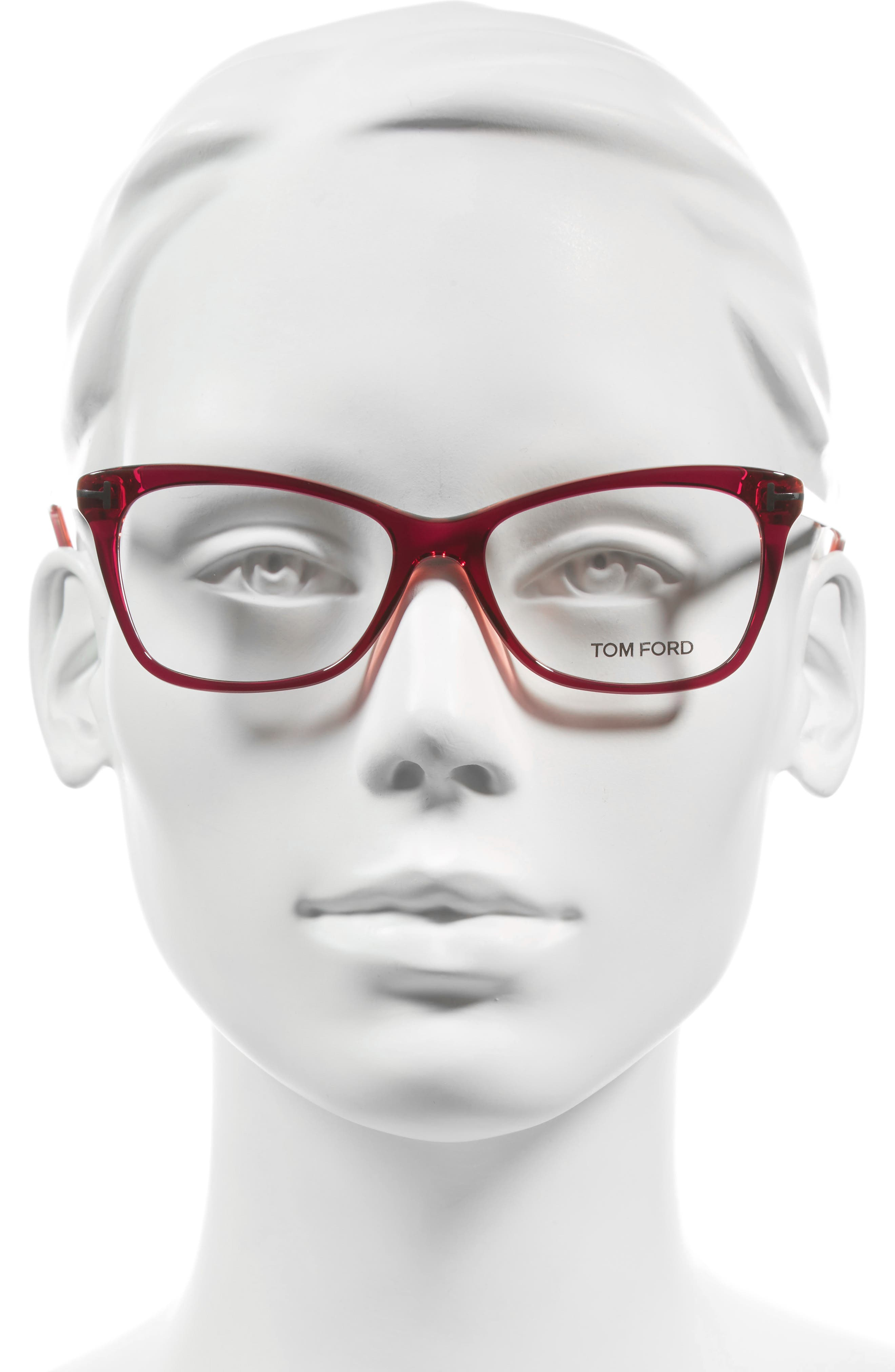 Alternate Image 2  - Tom Ford 52mm Cat Eye Optical Glasses