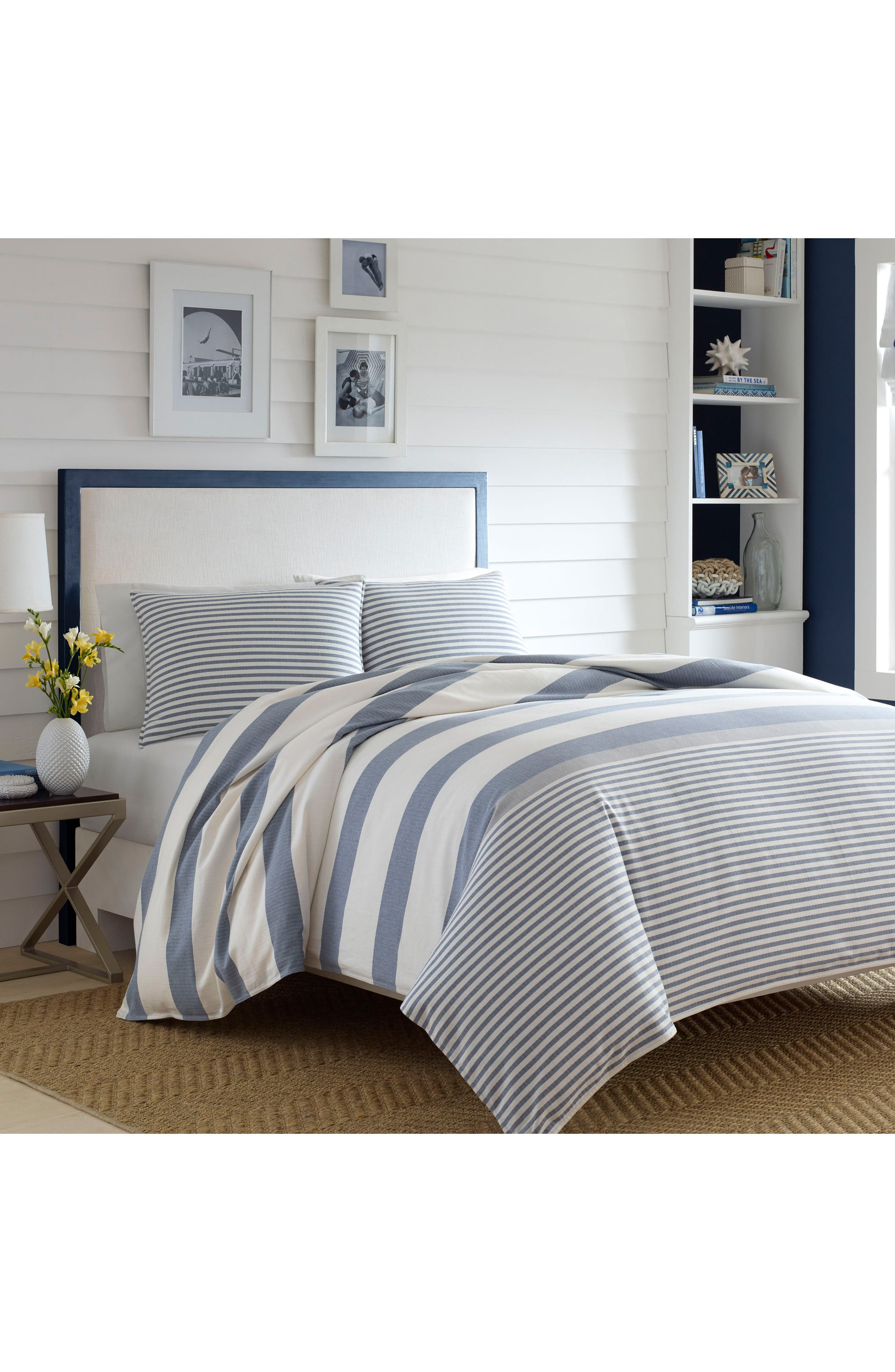 Fairwater Comforter & Sham Set,                         Main,                         color, Blue