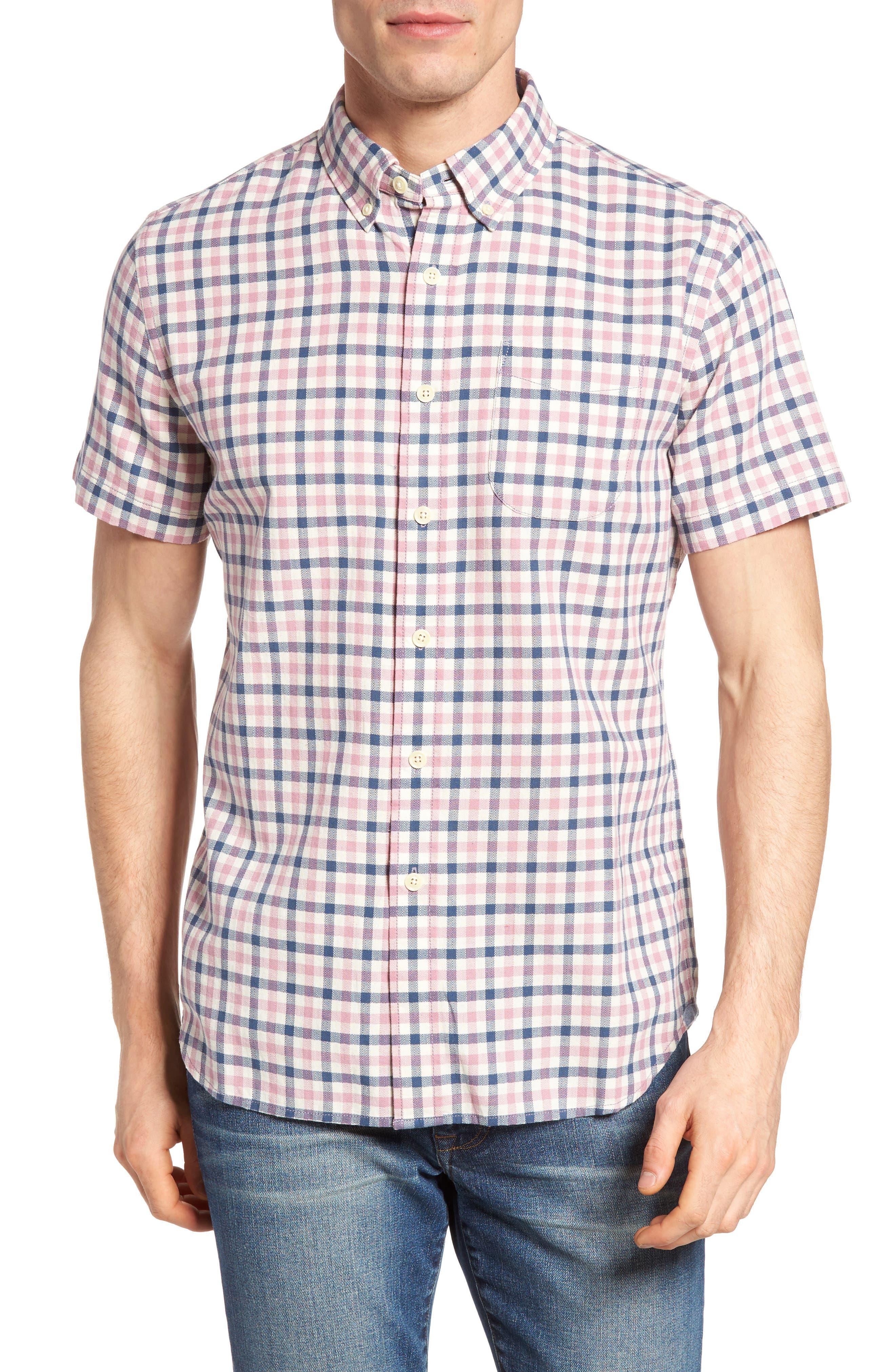 Grayers Kilco Check Herringbone Sport Shirt