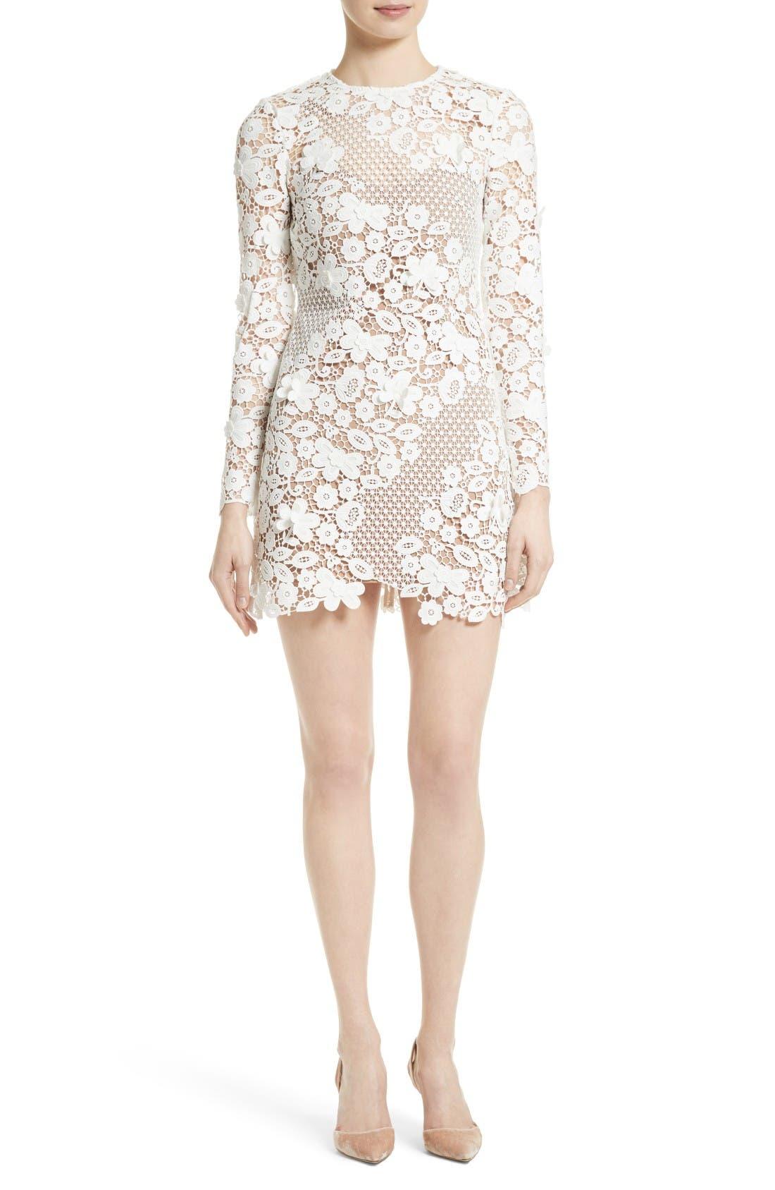 Main Image - Self-Portrait Lace Minidress