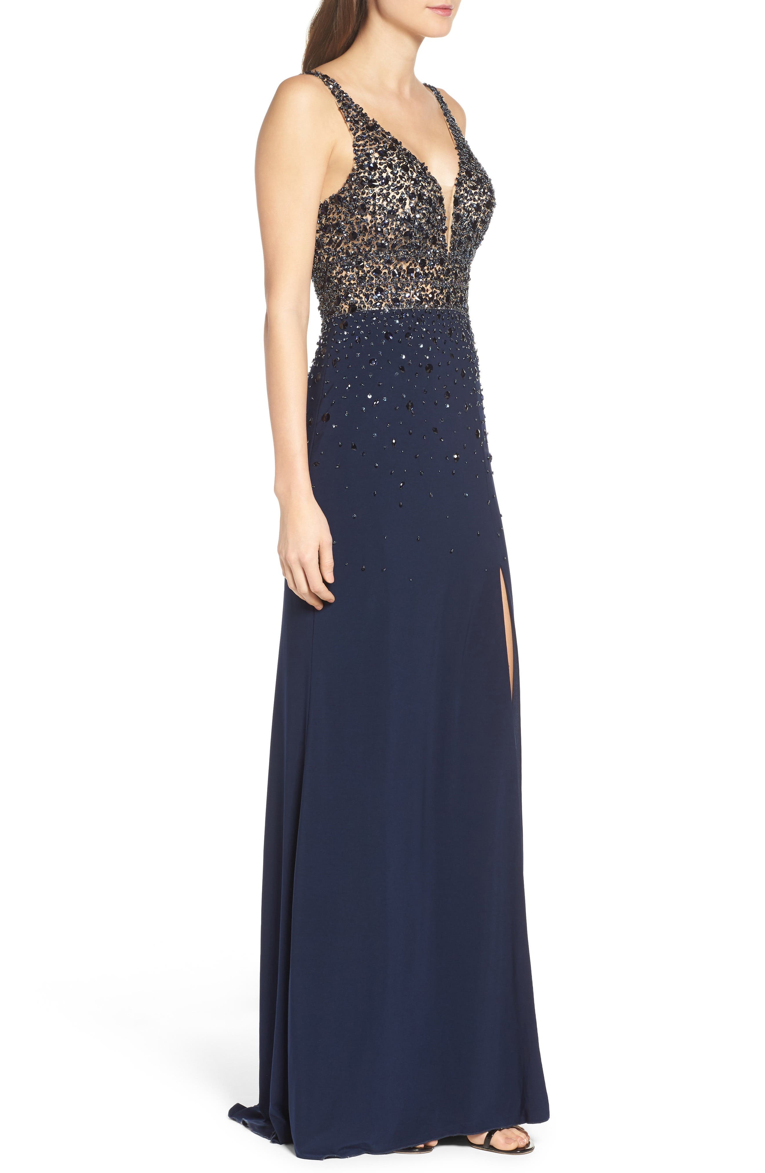 Alternate Image 3  - Sean Collection Embellished Sleeveless Gown