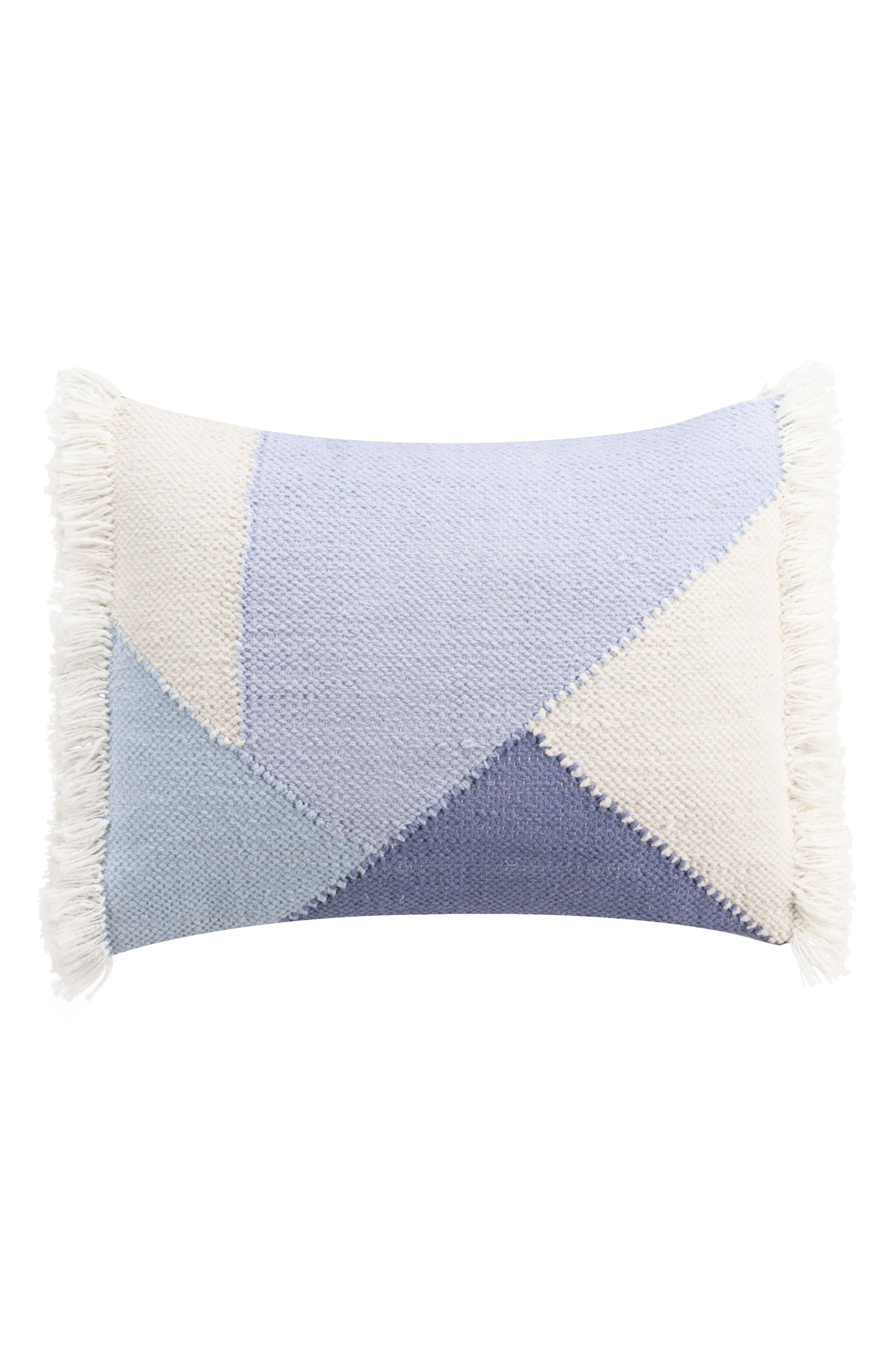 cupcakes & cashmere Mosaic Tile Accent Pillow,                             Main thumbnail 1, color,                             Blue