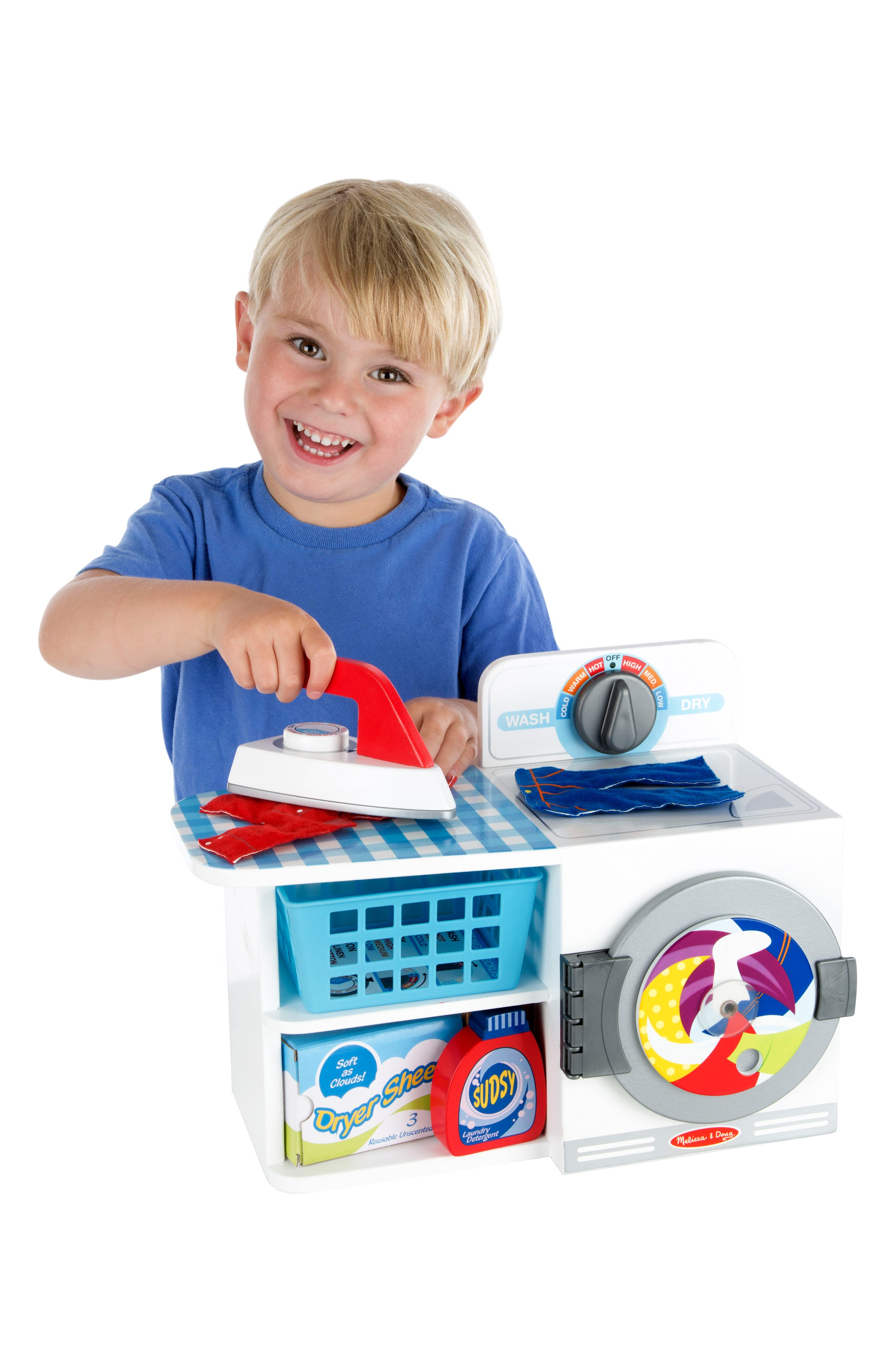 Alternate Image 2  - Melissa & Doug Let's Play House! Wash, Dry & Iron 8-Piece Play Set