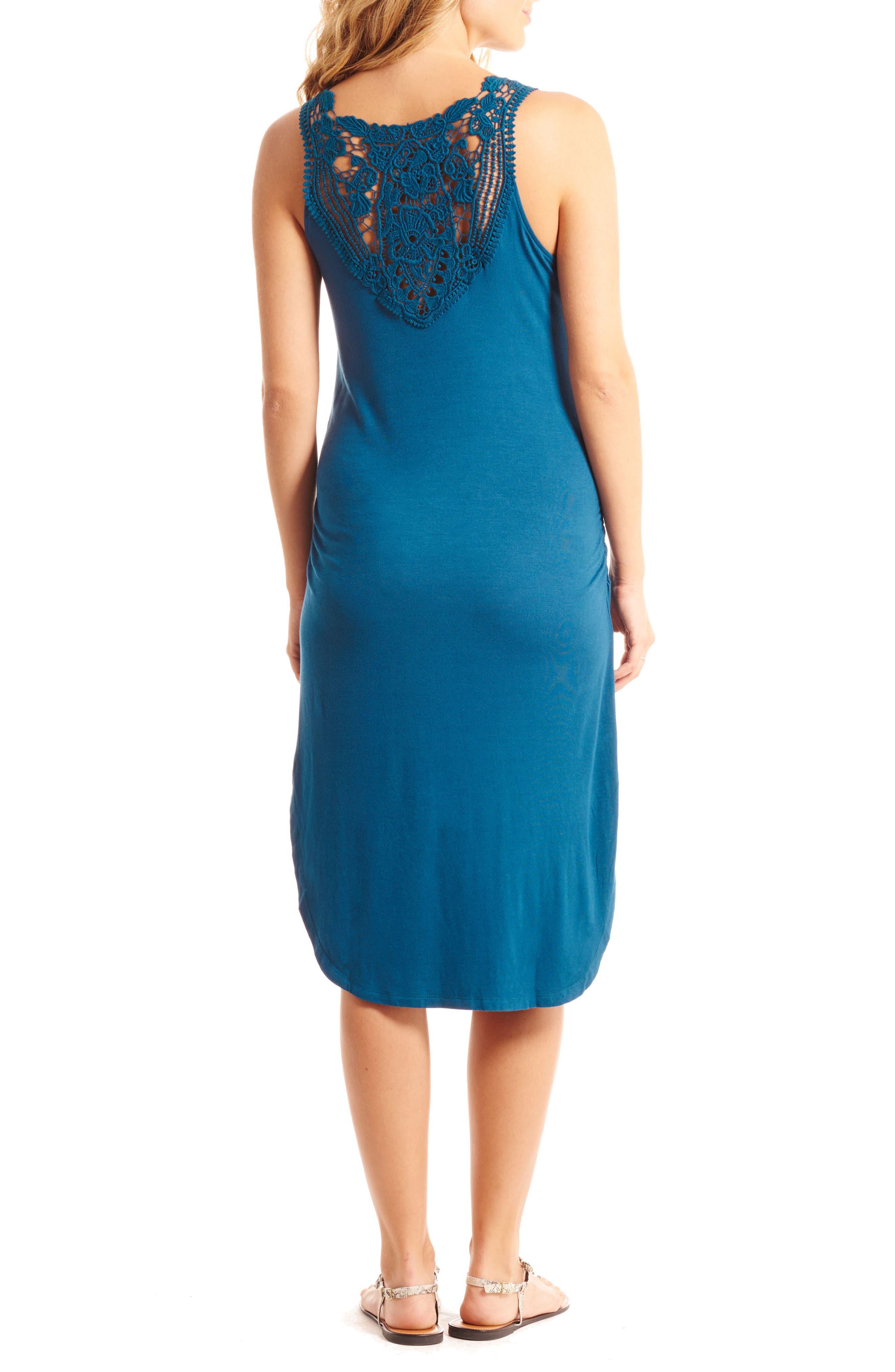Alternate Image 2  - Everly Grey Demi Maternity/Nursing Dress