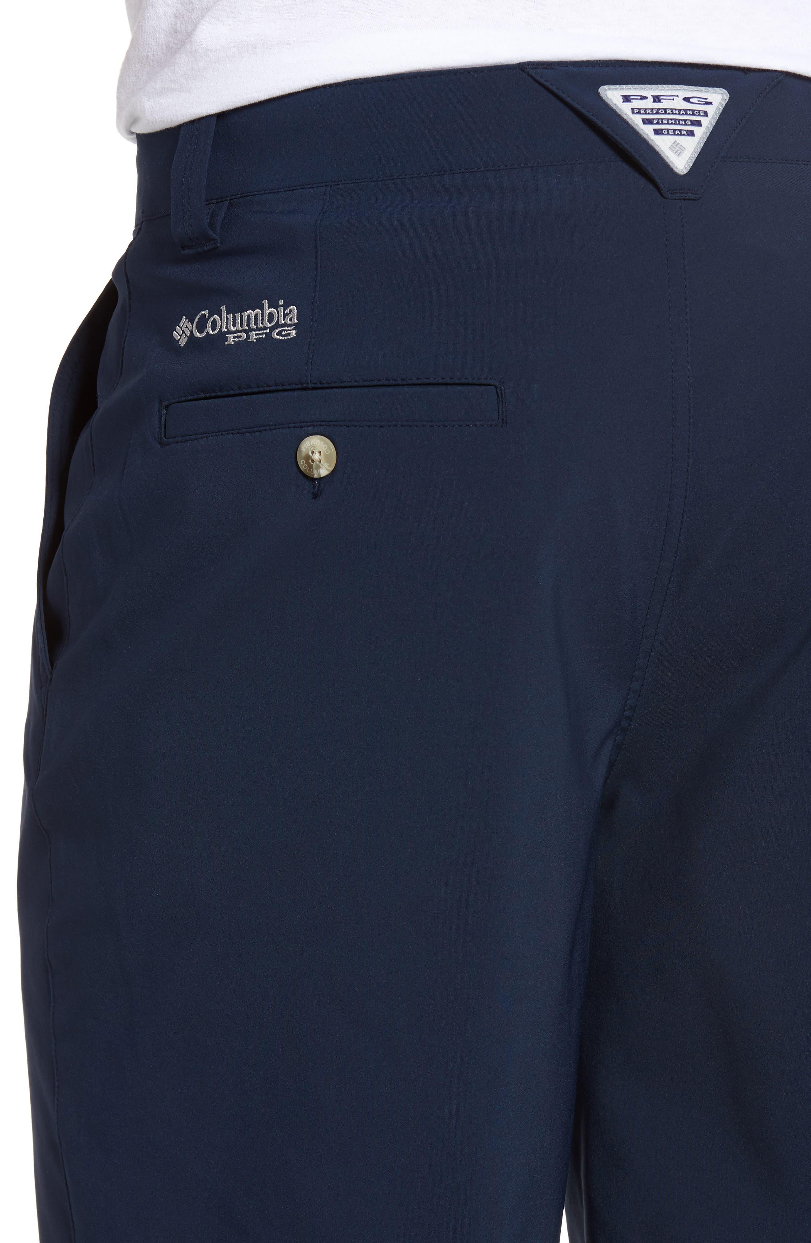PFG Grander Marlin II Shorts,                             Alternate thumbnail 4, color,                             Collegiate Navy