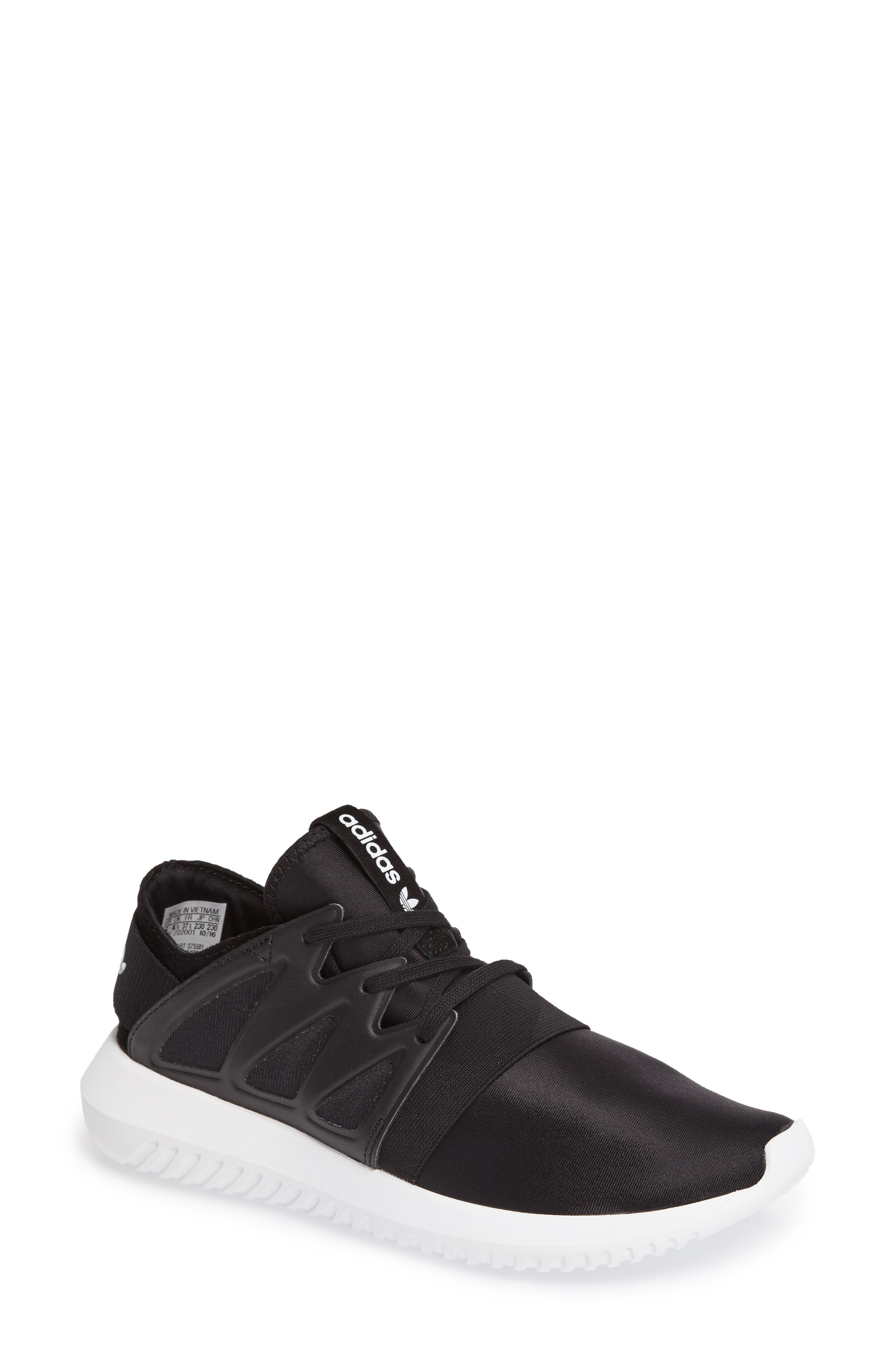 'Tubular Viral' Sneaker,                             Main thumbnail 1, color,                             Core Black