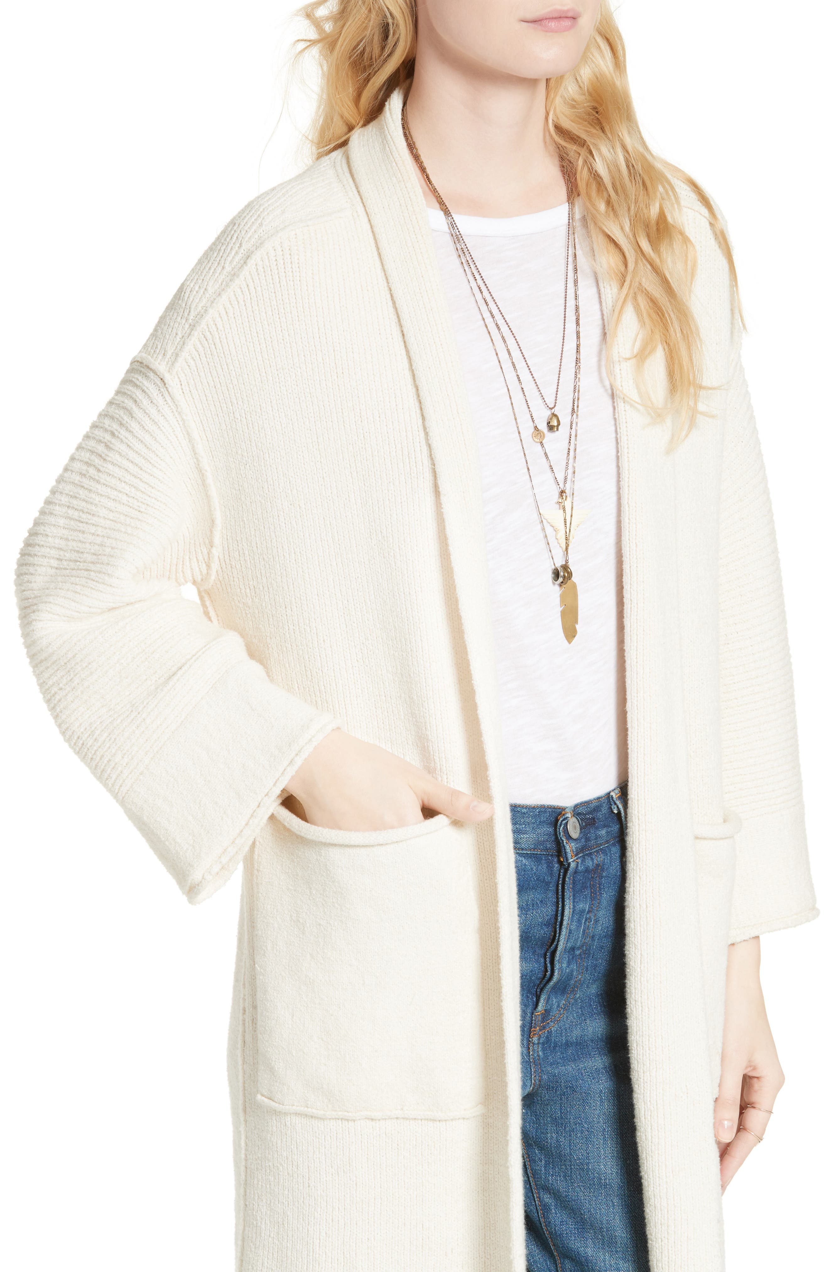 Alternate Image 4  - Free People By the Campfire Cardigan