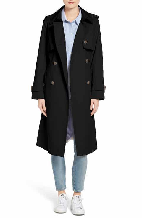 Black Trench Coats for Women   Nordstrom   Nordstrom