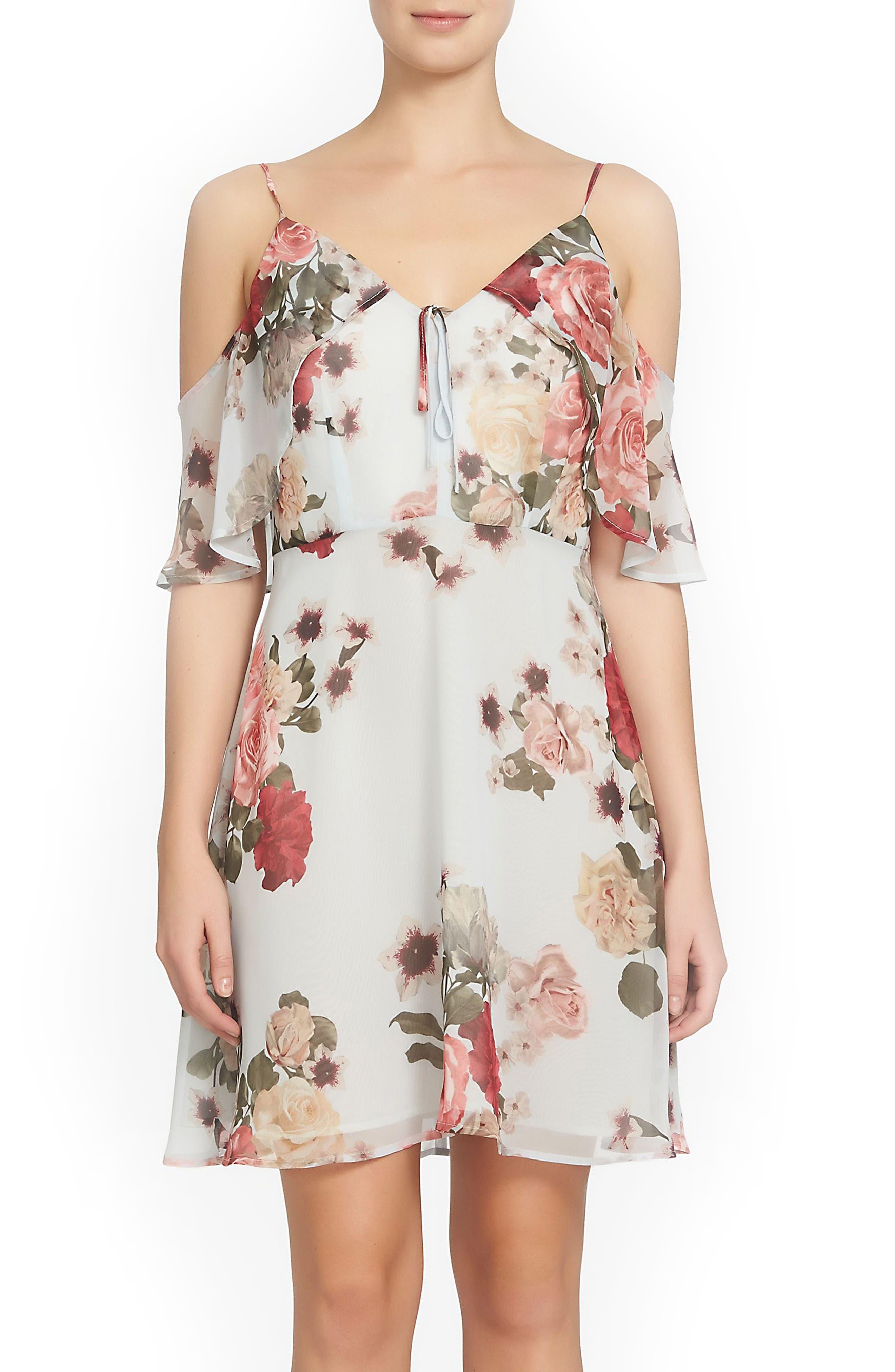 CeCe Olivia Popover Dress