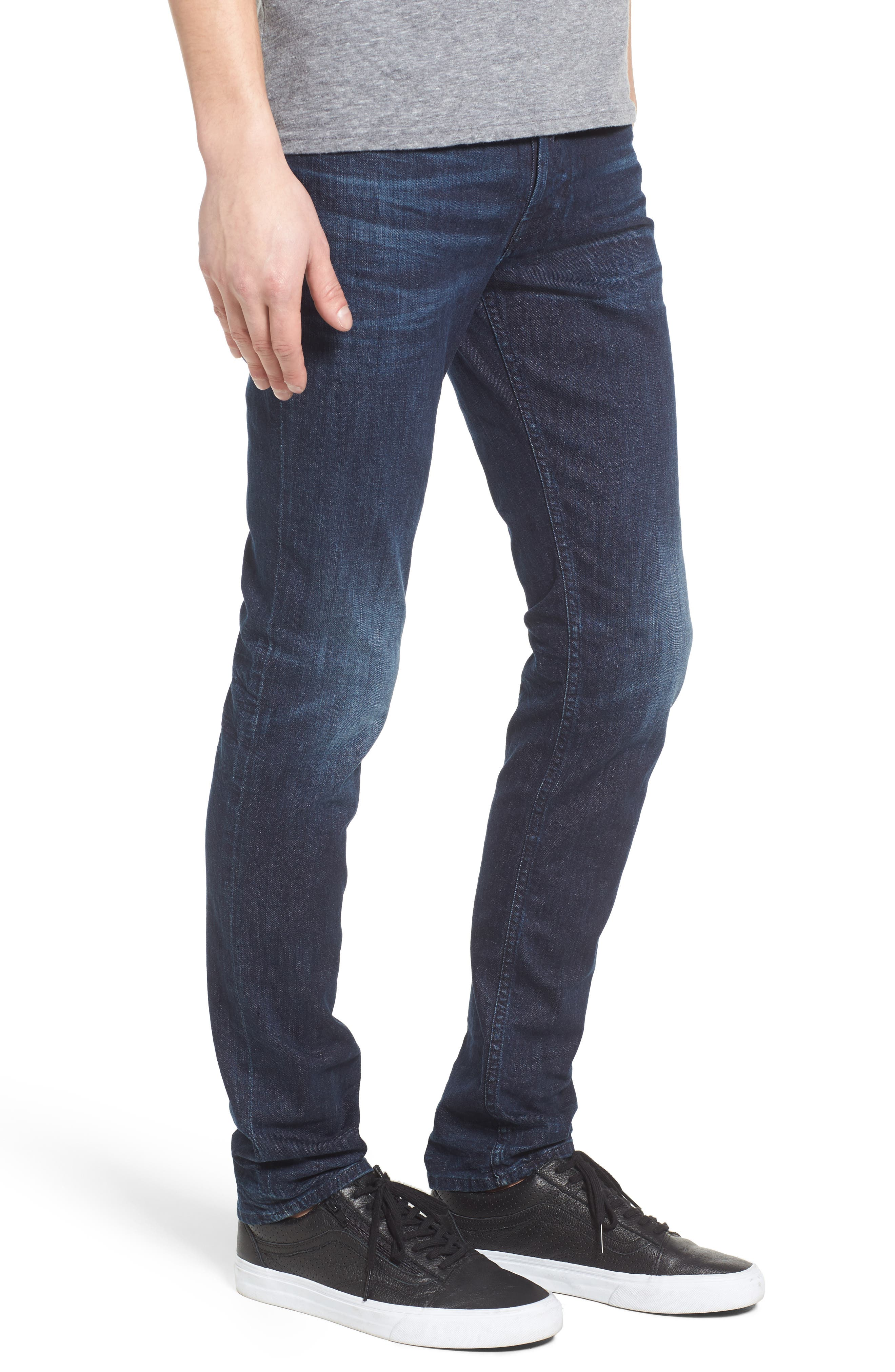 Alternate Image 3  - Hudson Jeans Axl Skinny Fit Jeans (Glove Game)