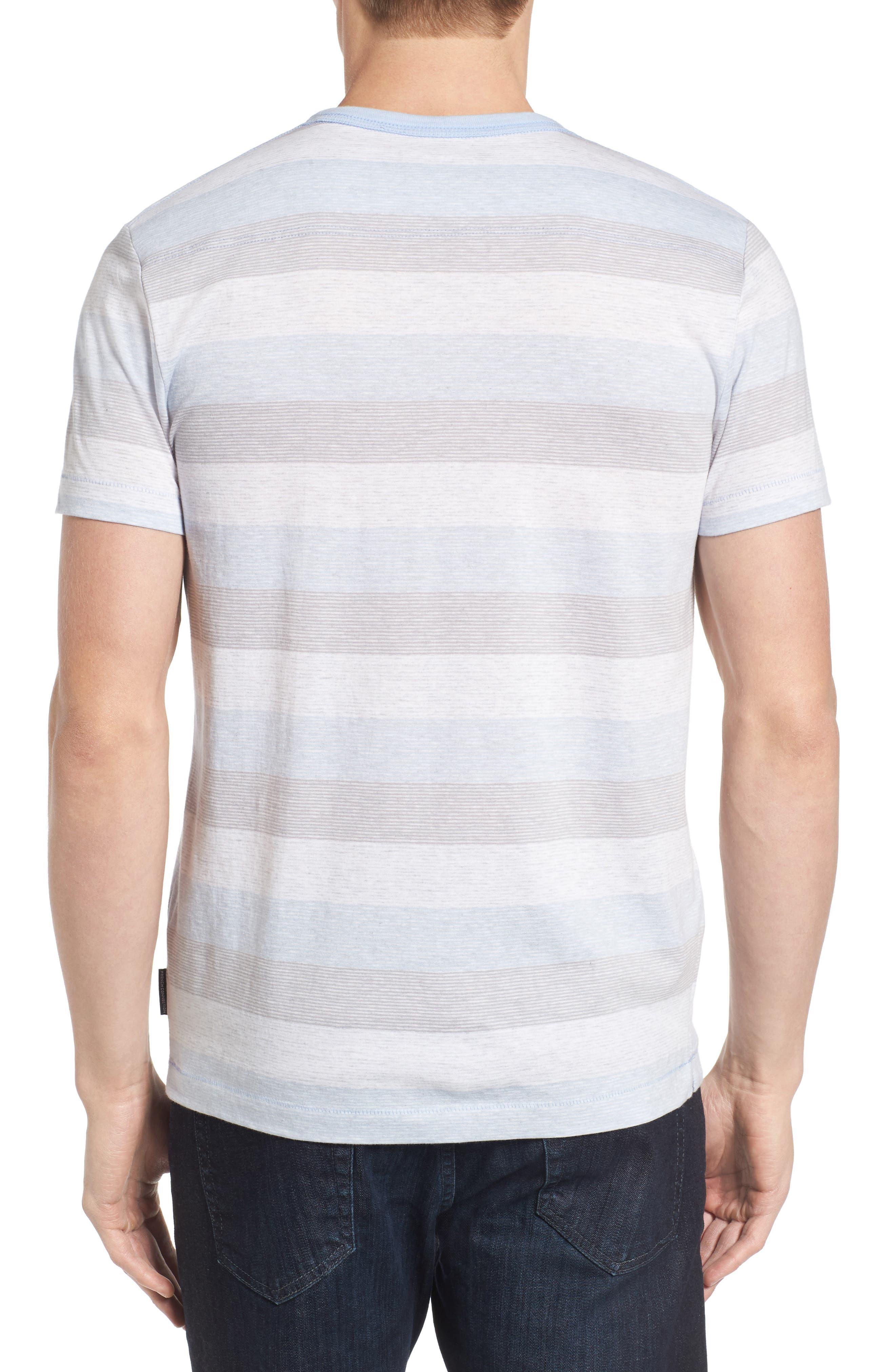 Bose Stripe T-Shirt,                             Alternate thumbnail 2, color,                             Kentucky Blue
