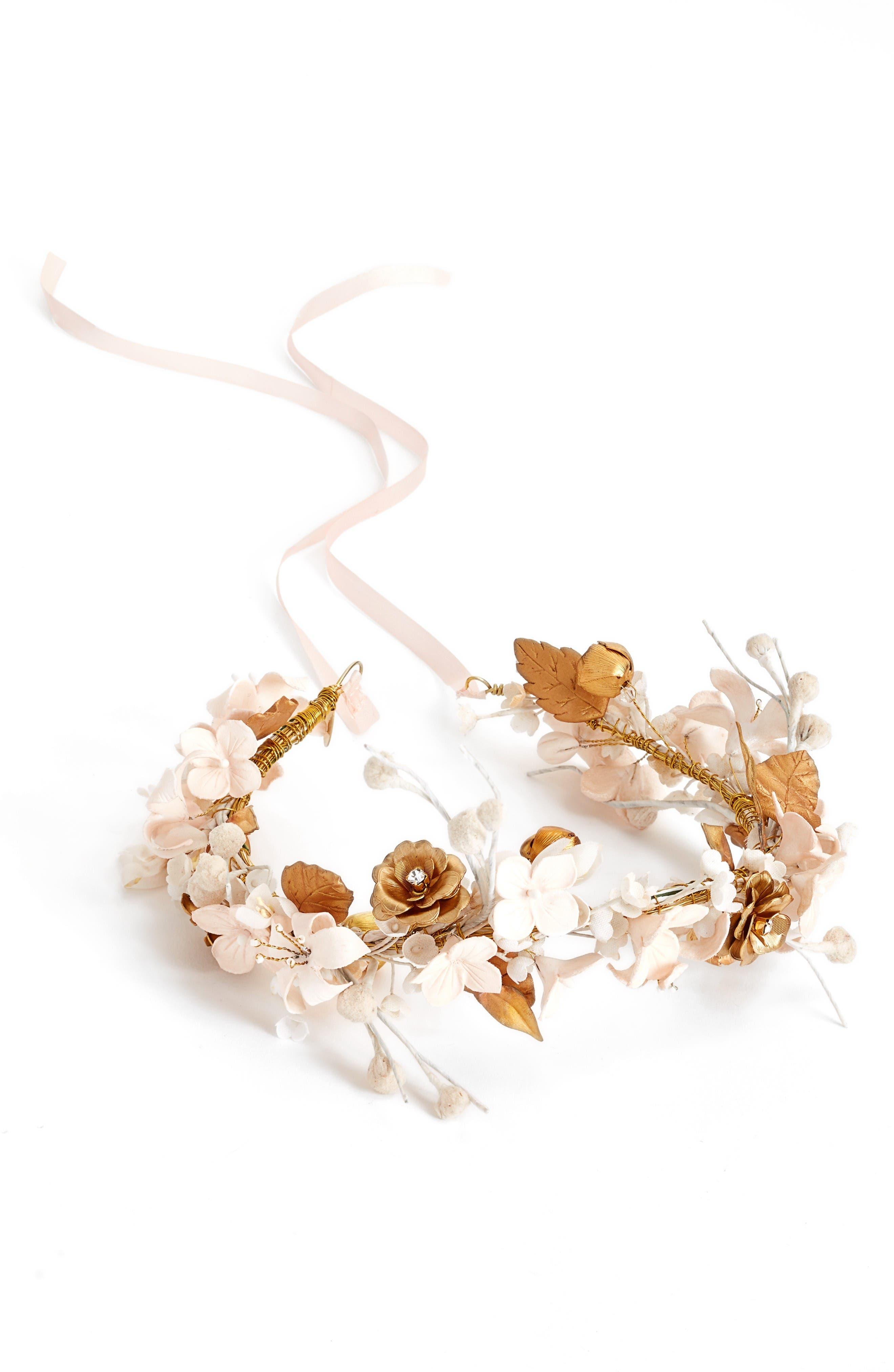 Alternate Image 2  - twigs & honey Woodland Flora Headband