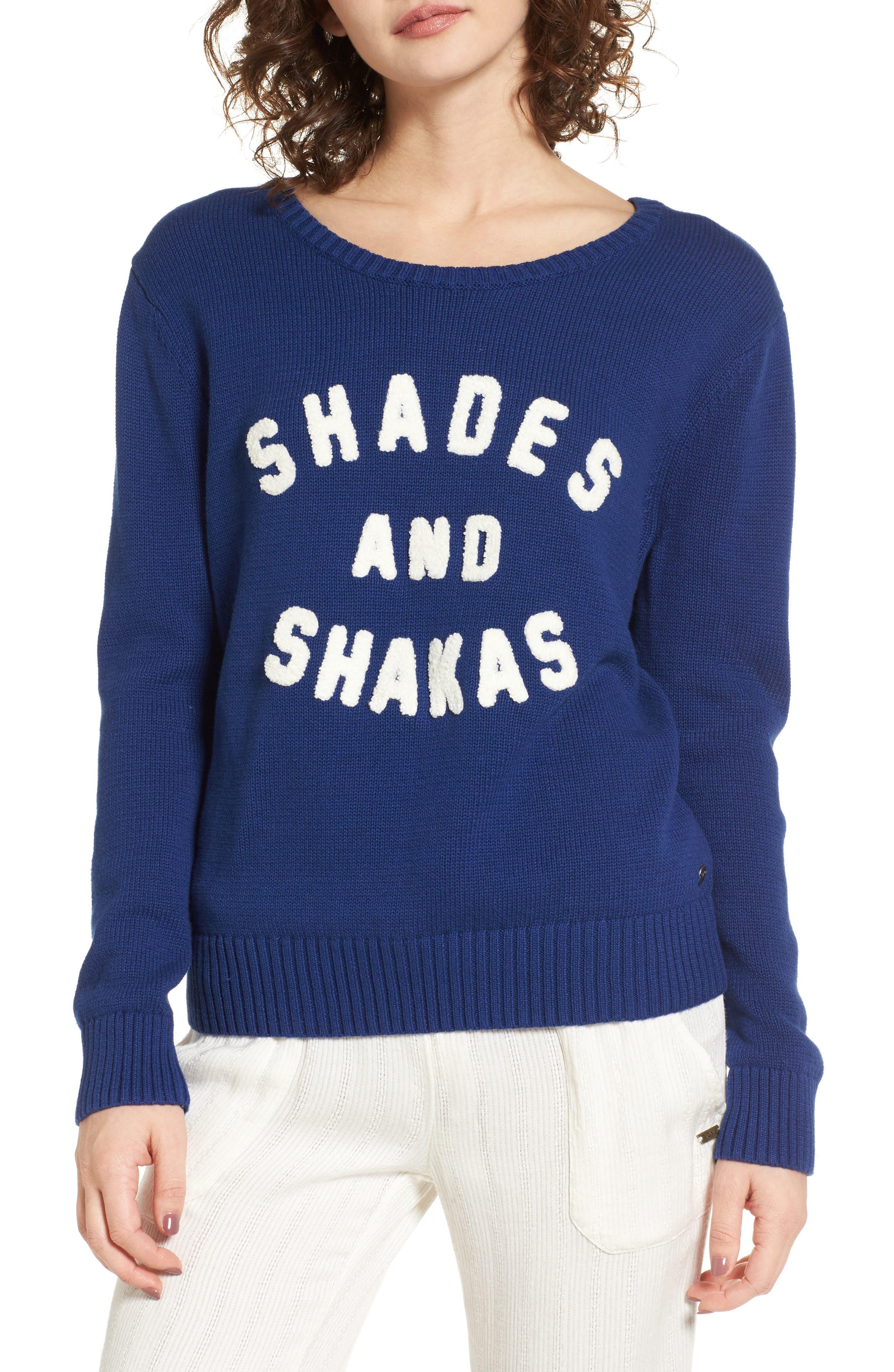 Main Image - Roxy Higher Ground Graphic Sweater