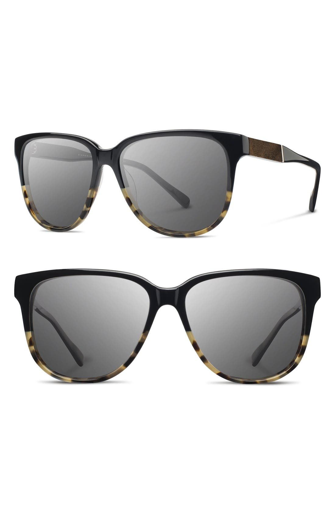 'McKenzie' 57mm Polarized Sunglasses,                         Main,                         color, Black Olive/ Elm/ G15 Polar