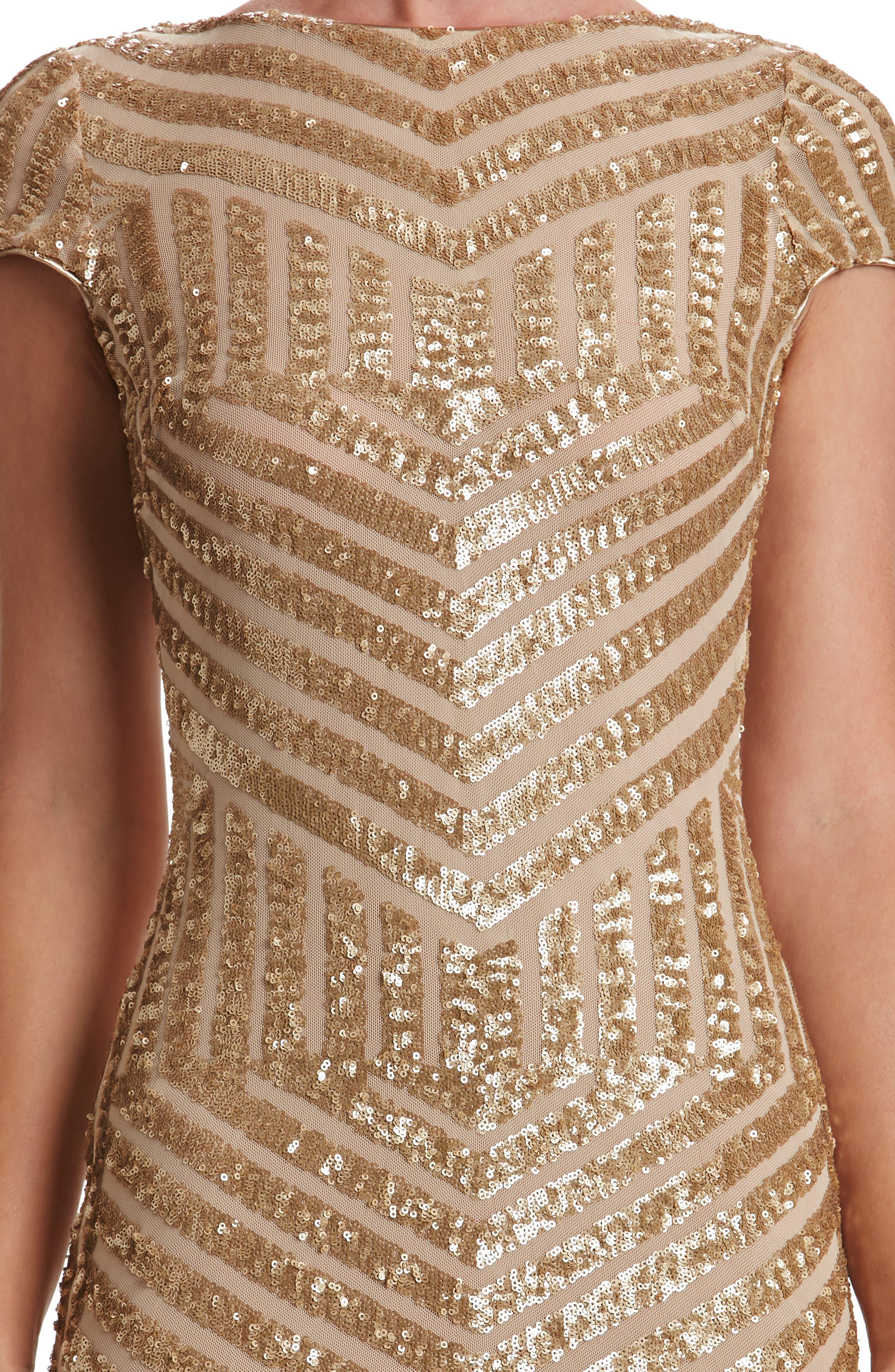 Alternate Image 3  - Dress the Population Katerina Body-Con Dress