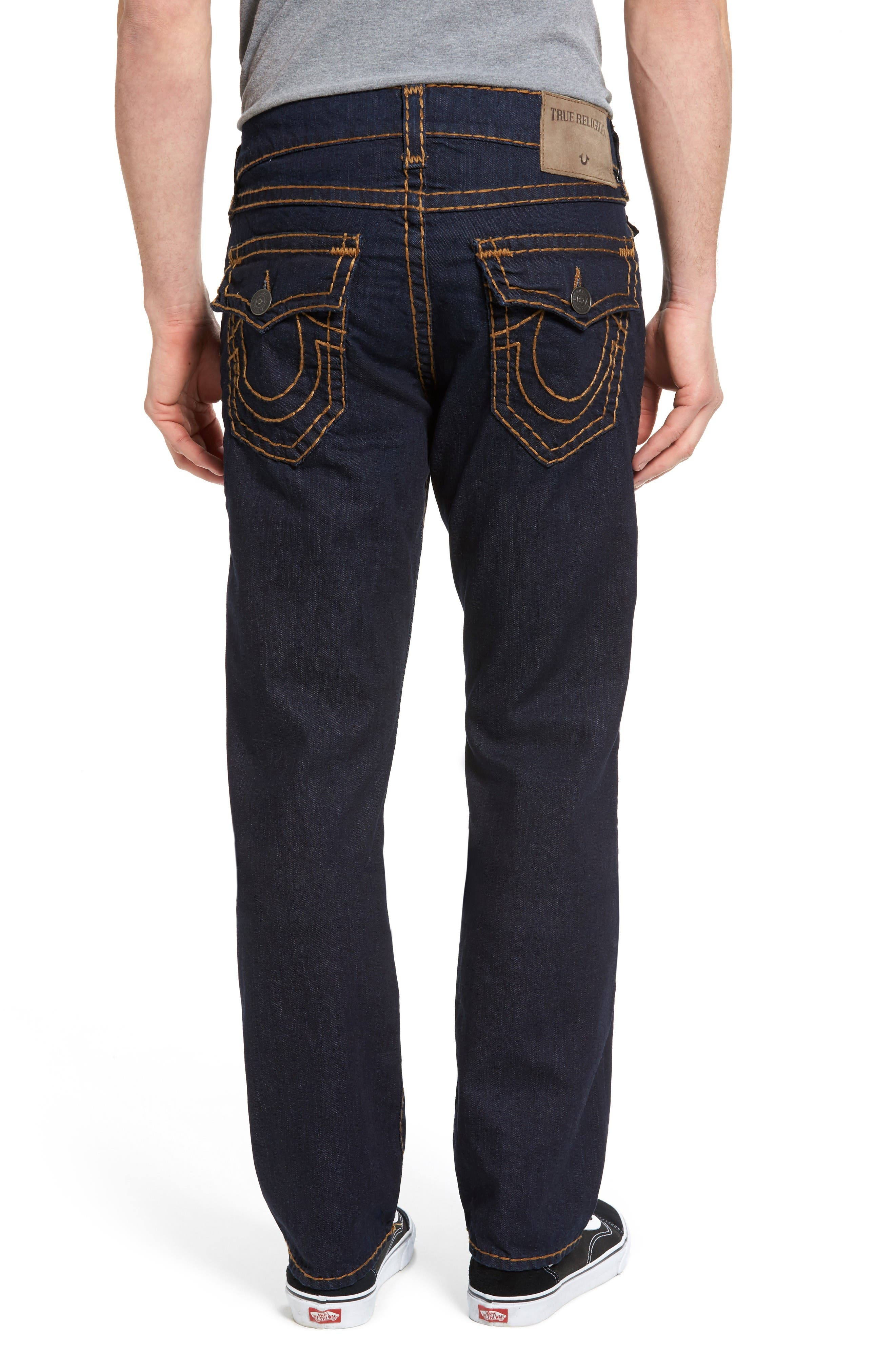 Alternate Image 2  - True Religion Brand Jeans Ricky Relaxed Fit Jeans (Body Rinse)