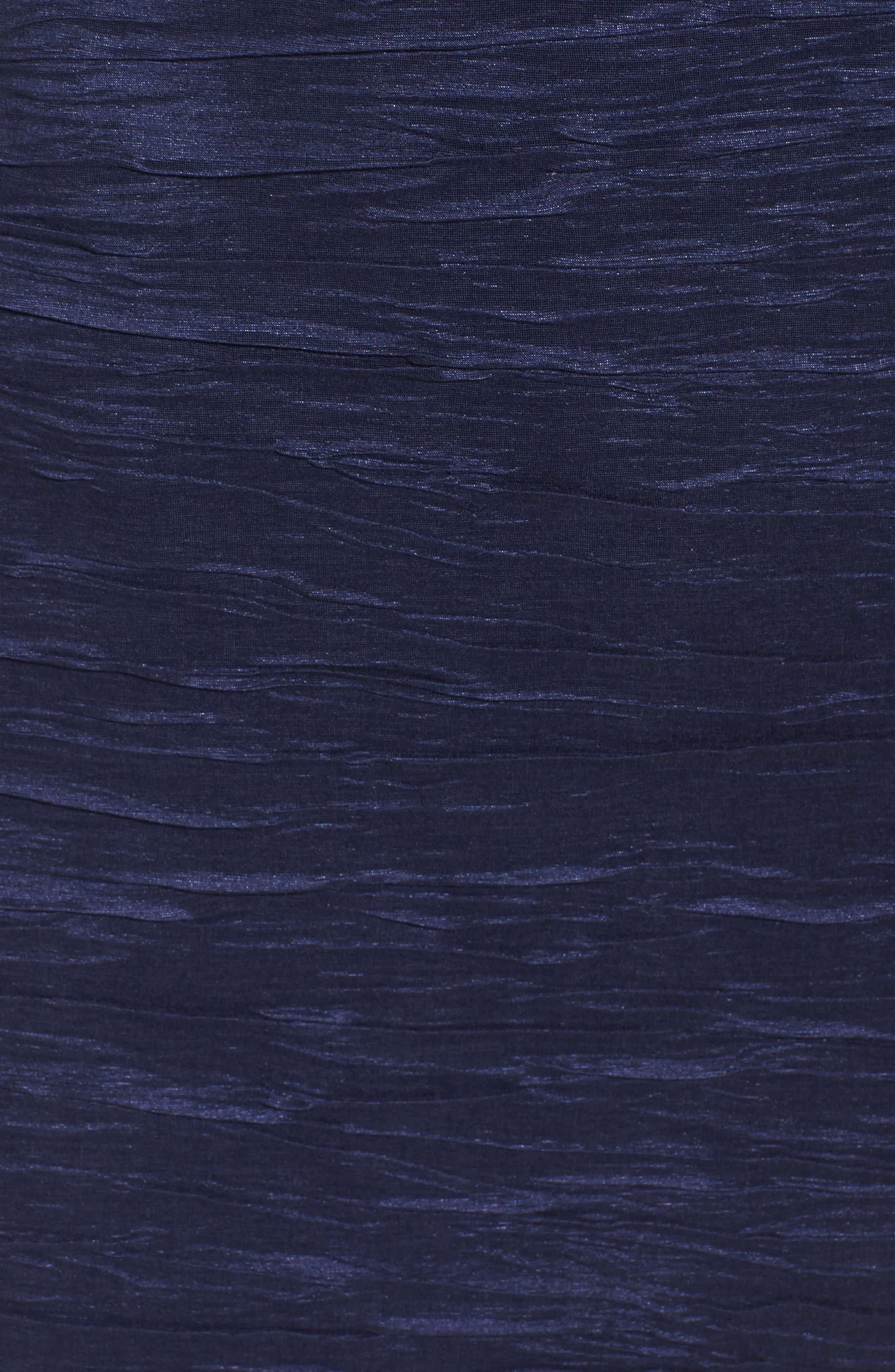 Alternate Image 5  - Eliza J Embellished Taffeta Sheath Dress