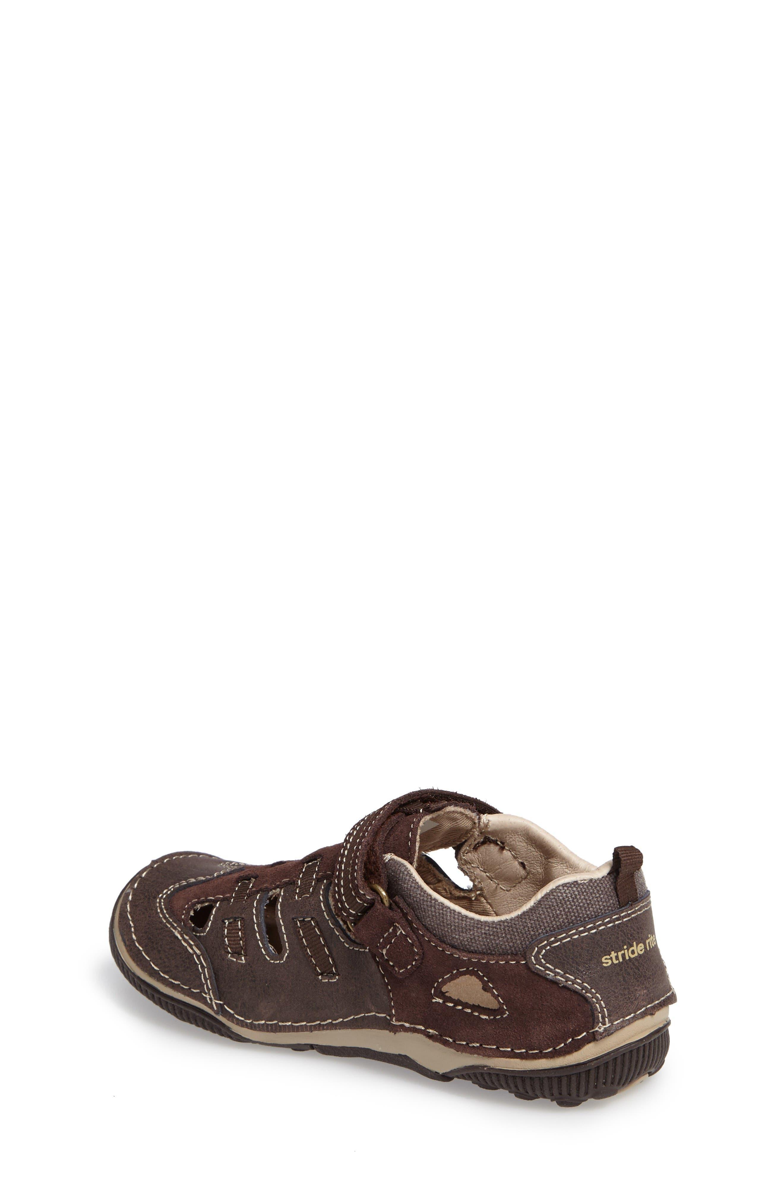 Reggie Cutout Sneaker,                             Alternate thumbnail 2, color,                             Brown Leather