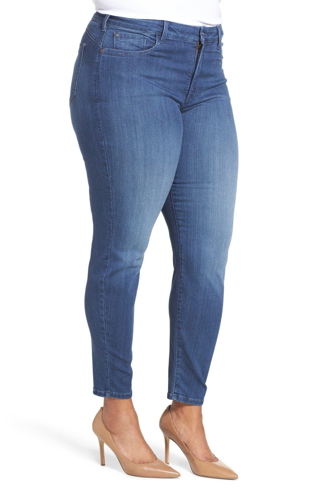 'Ami' Stretch Skinny Jeans,                             Alternate thumbnail 3, color,                             Nantes
