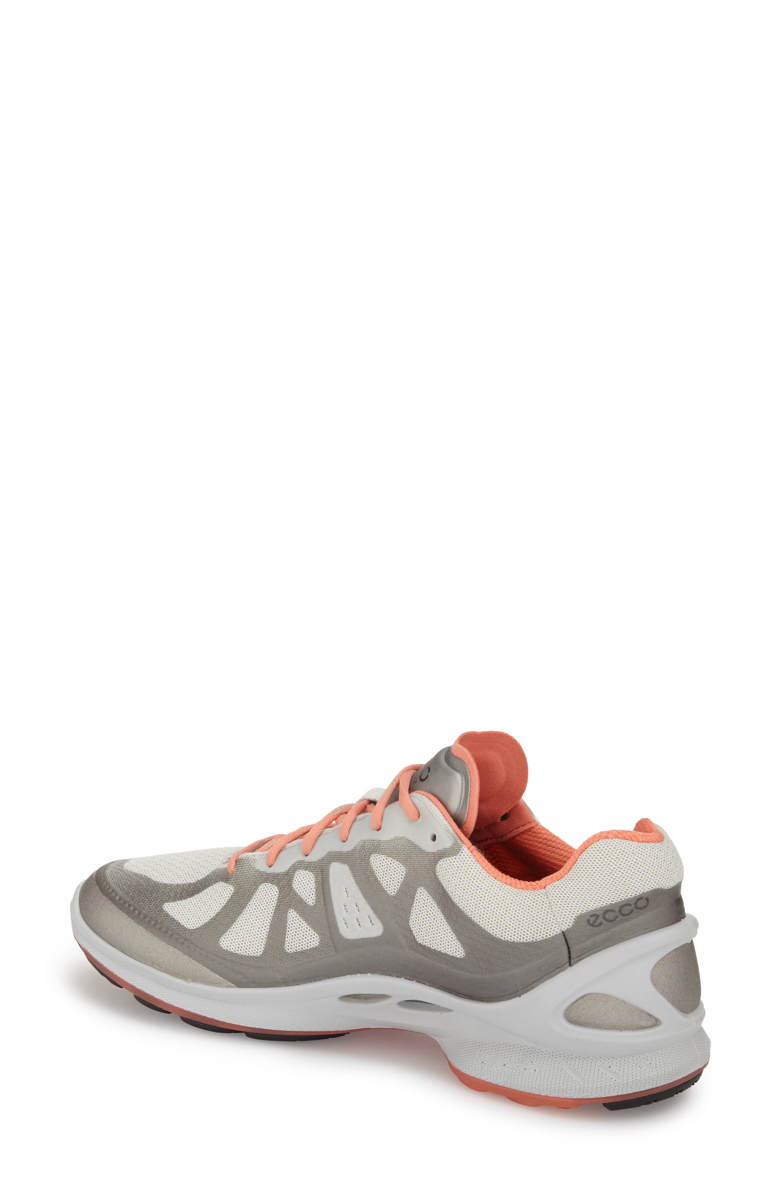 'BIOM Fjuel Racer' Sneaker,                             Alternate thumbnail 2, color,                             Silver Metallic Coral
