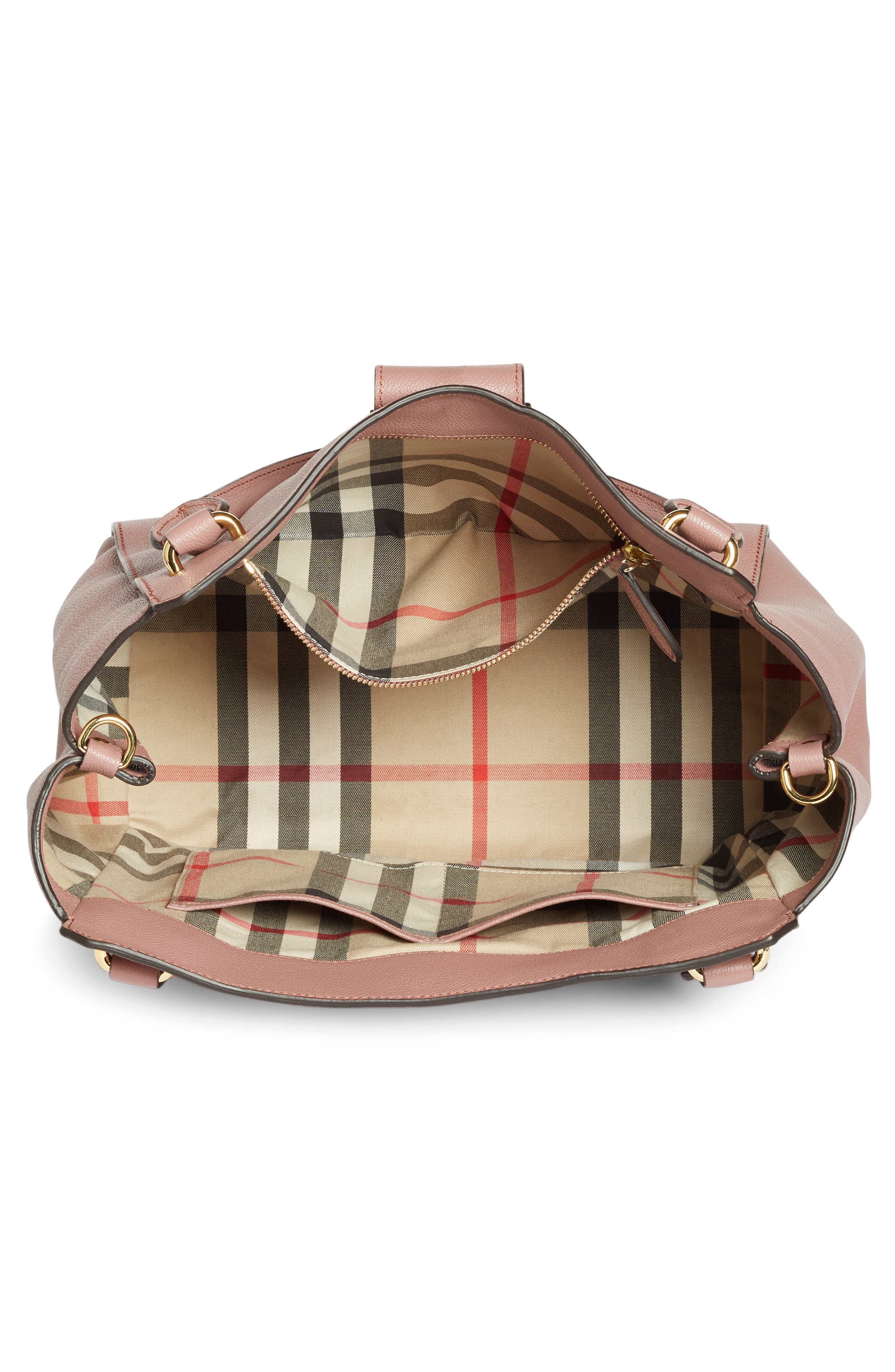 Alternate Image 4  - Burberry Medium Buckle Tote