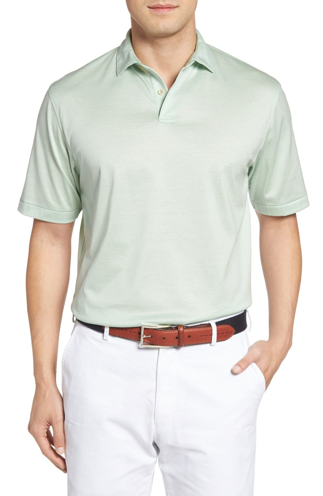 Peter Millar Nanoluxe Golf Polo