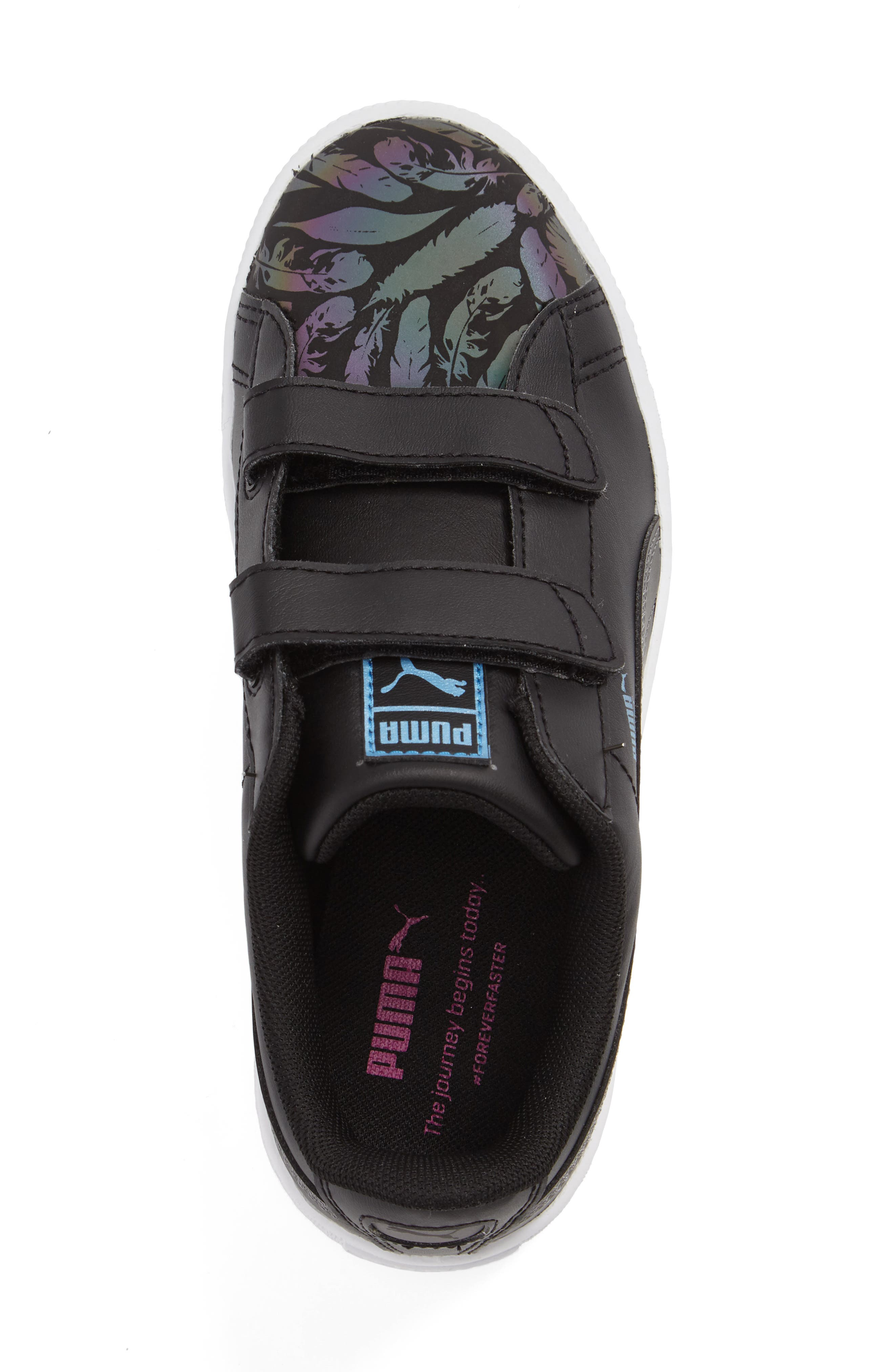 Alternate Image 3  - PUMA Basket Swan Sneaker (Toddler, Little Kid & Big Kid)