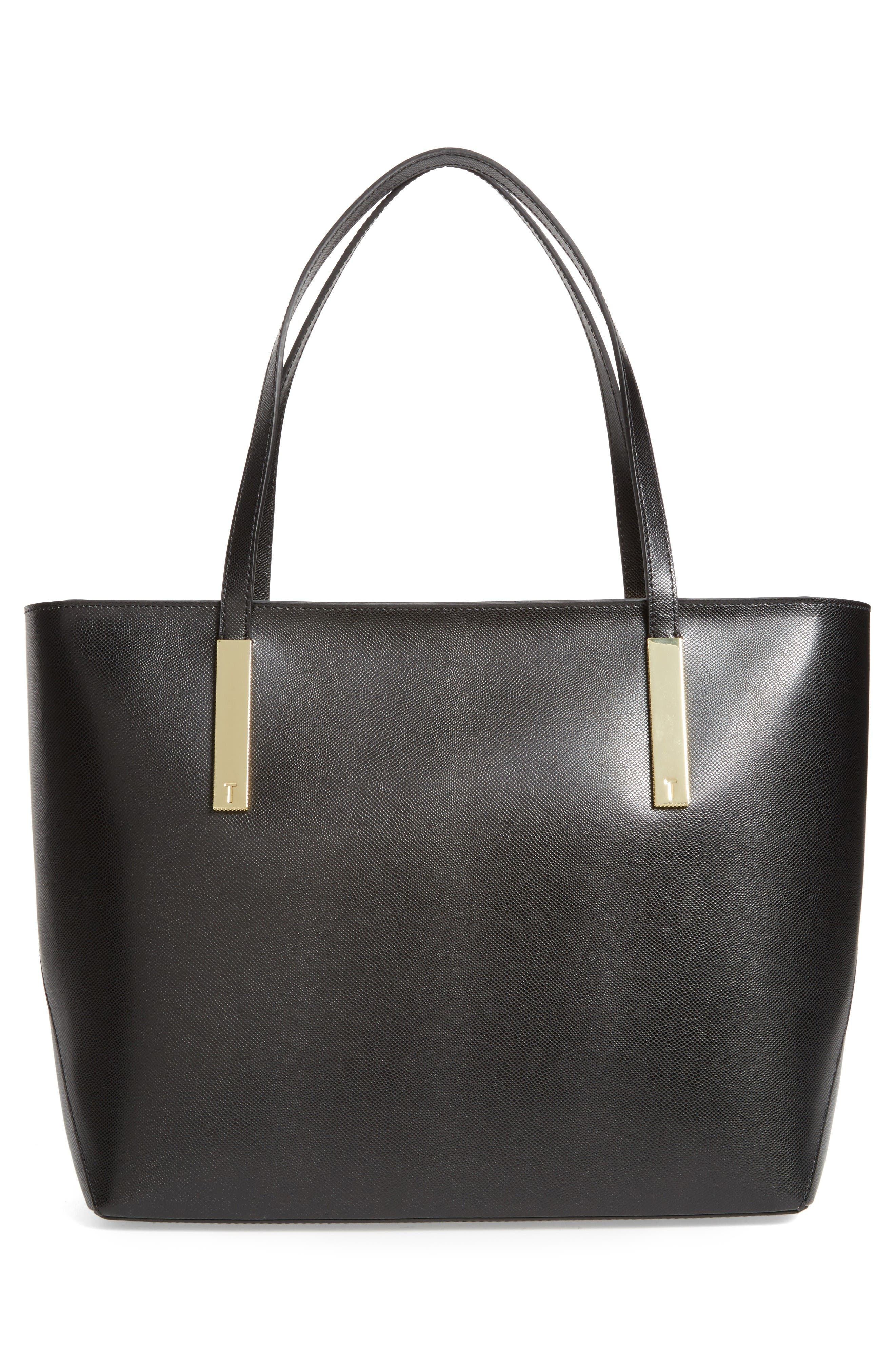 Alternate Image 3  - Ted Baker London Mini Leather Shopper
