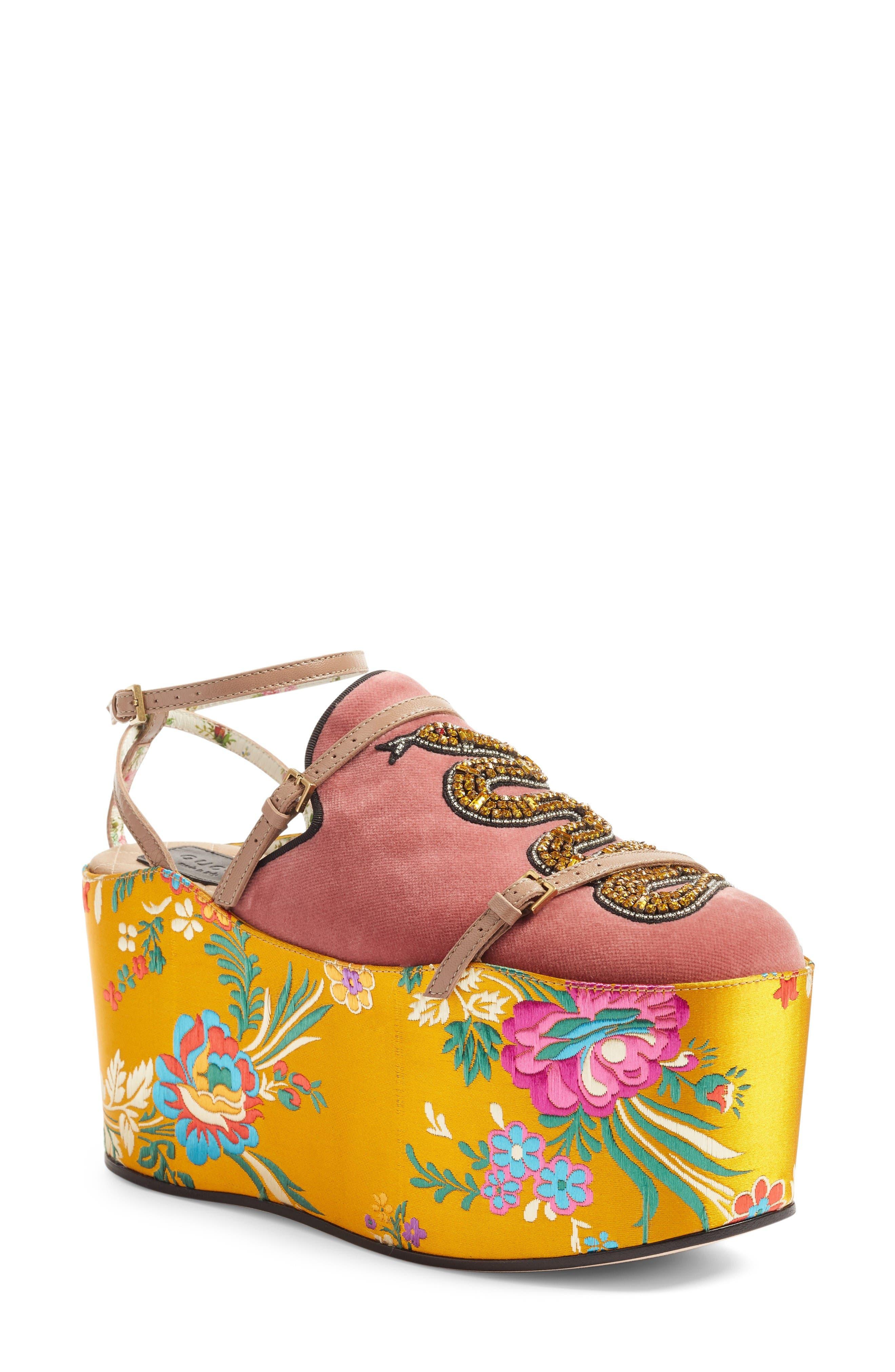 Gucci Hannelore Platform Loafer (Women)