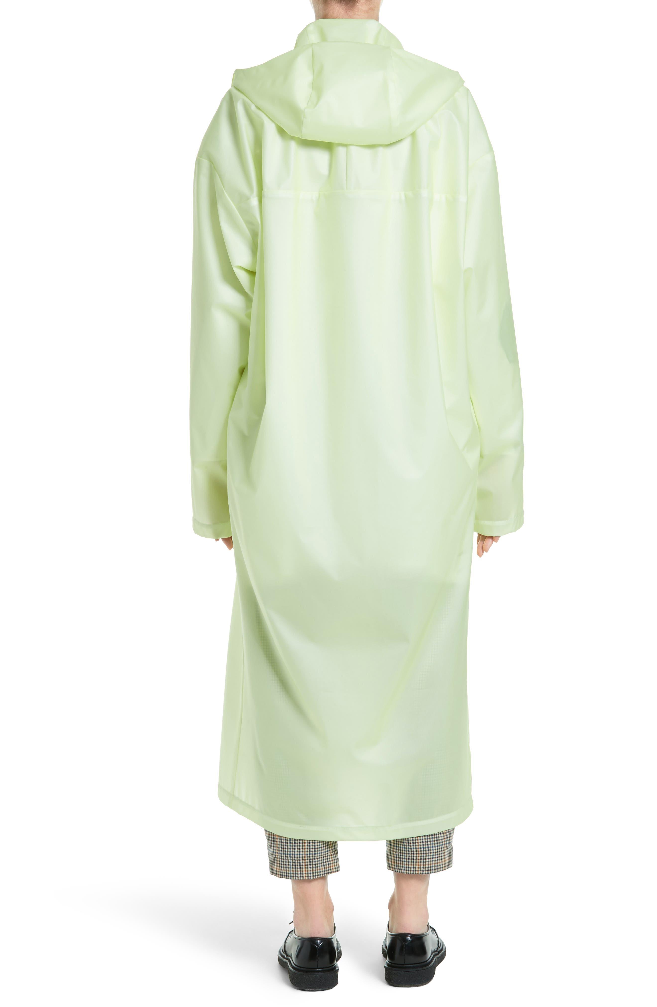 Alternate Image 2  - A.W.A.K.E. Oversize Waterproof Hooded Coat